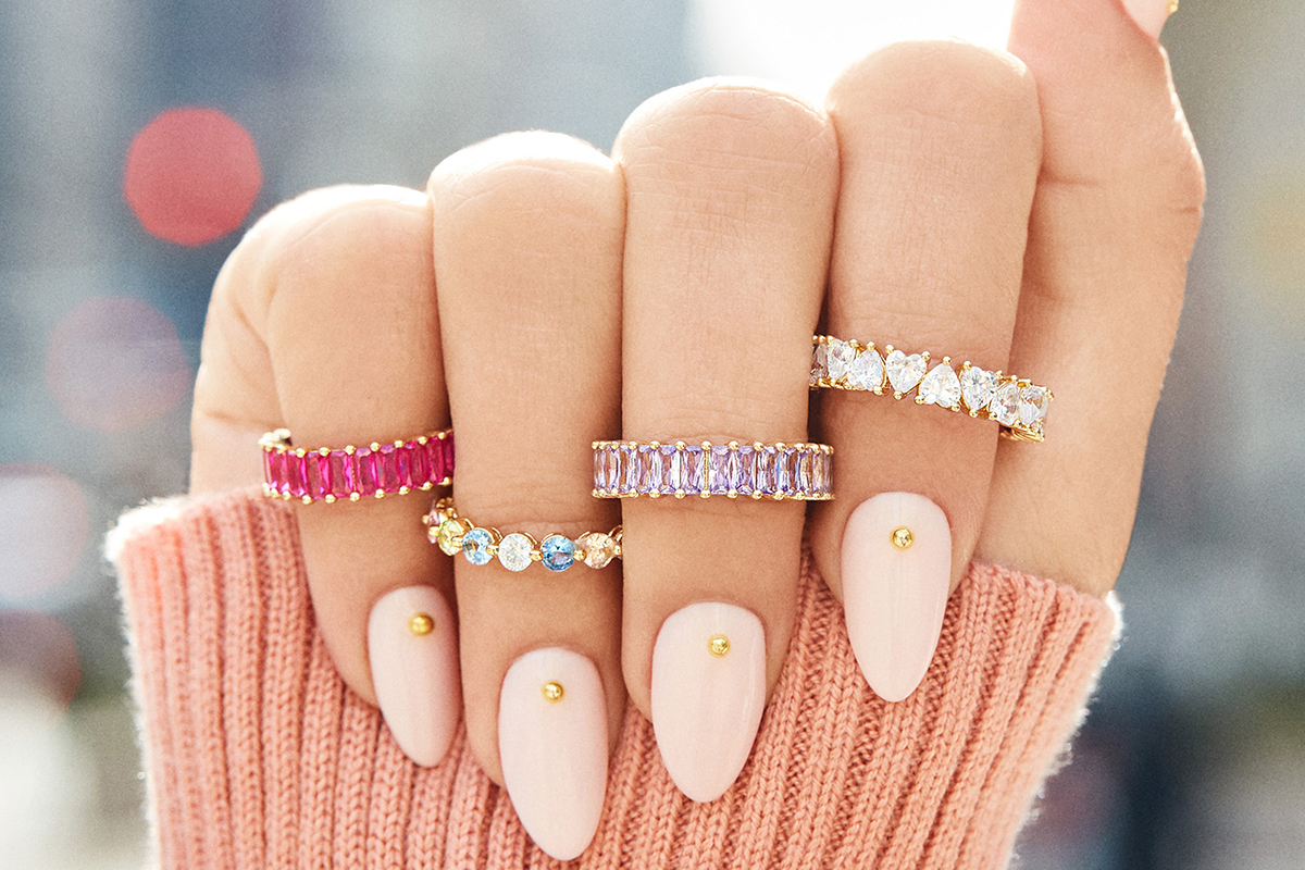BaubleBar New Alidia Rings