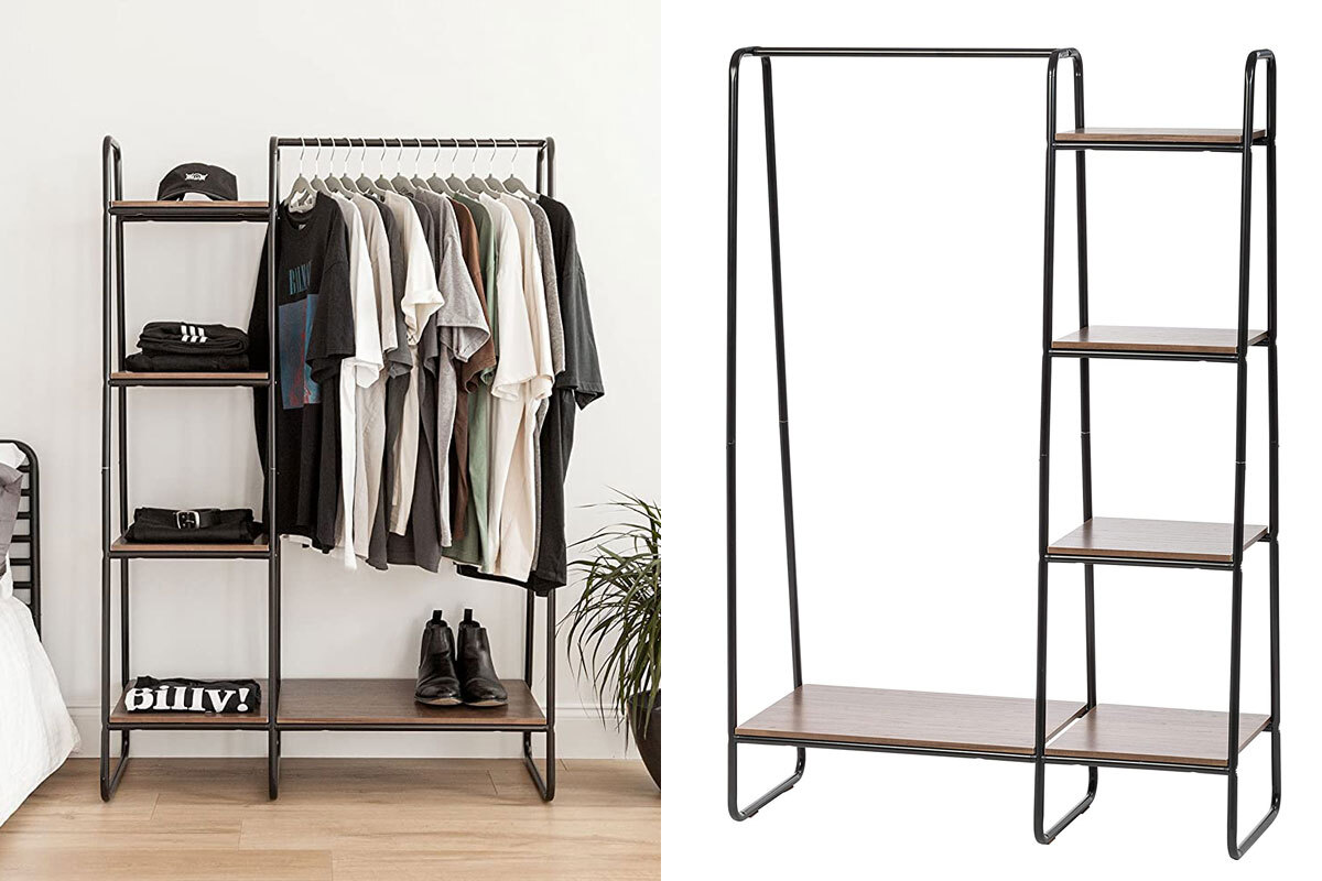 tiktok amazon finds iris usa clothes rack