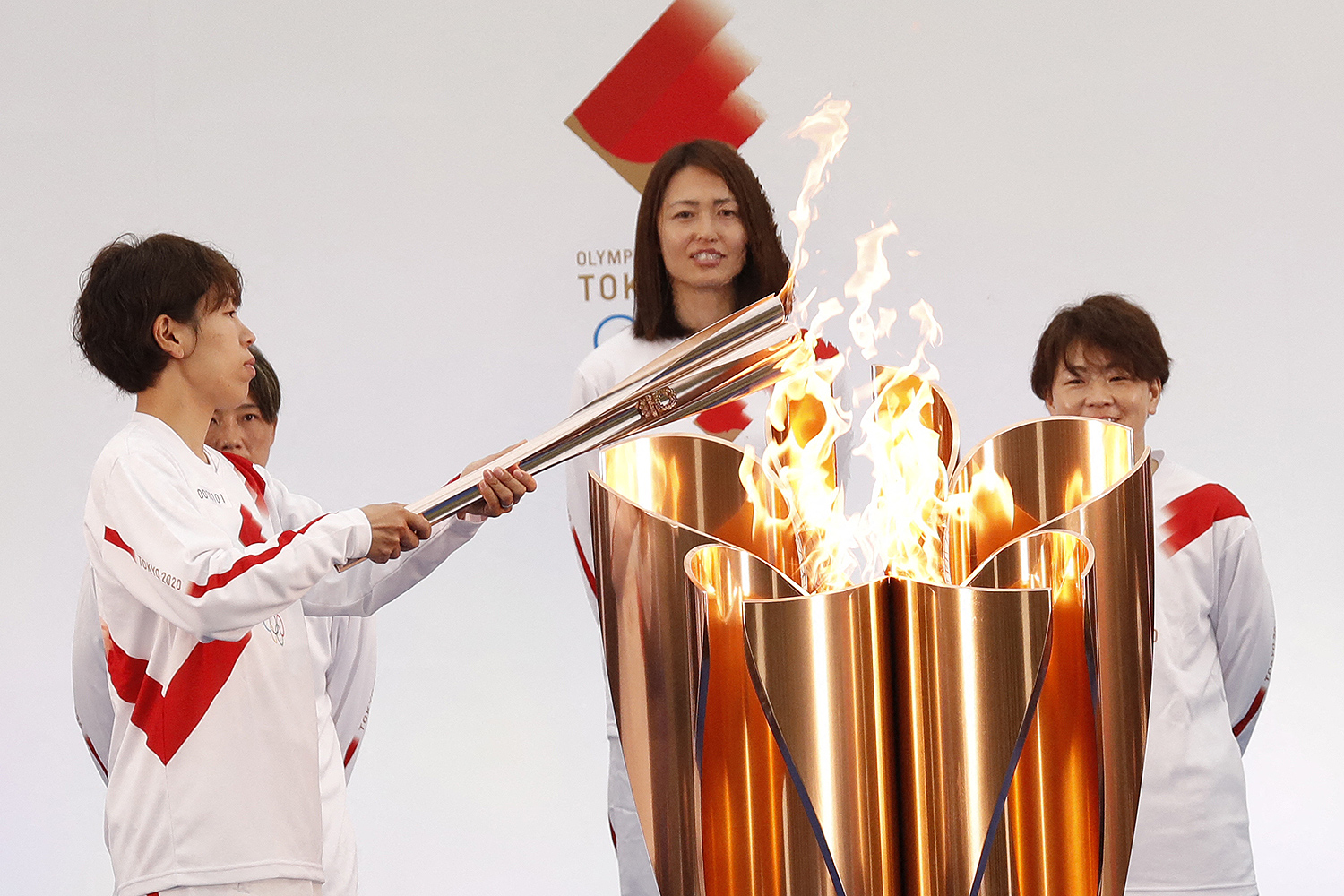 Tokyo Olympic torch relay