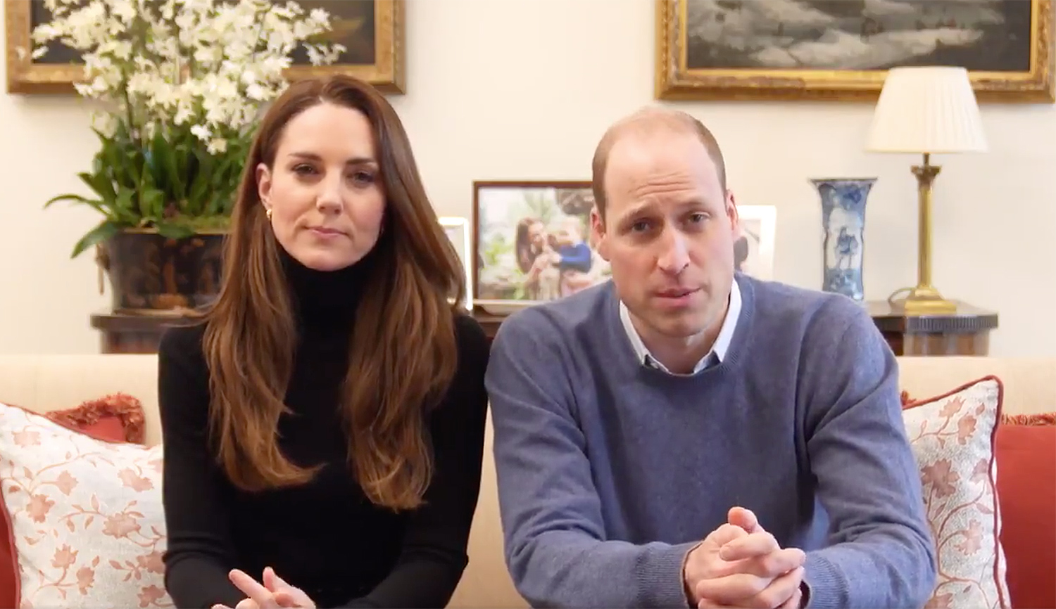 Will and Kate video message