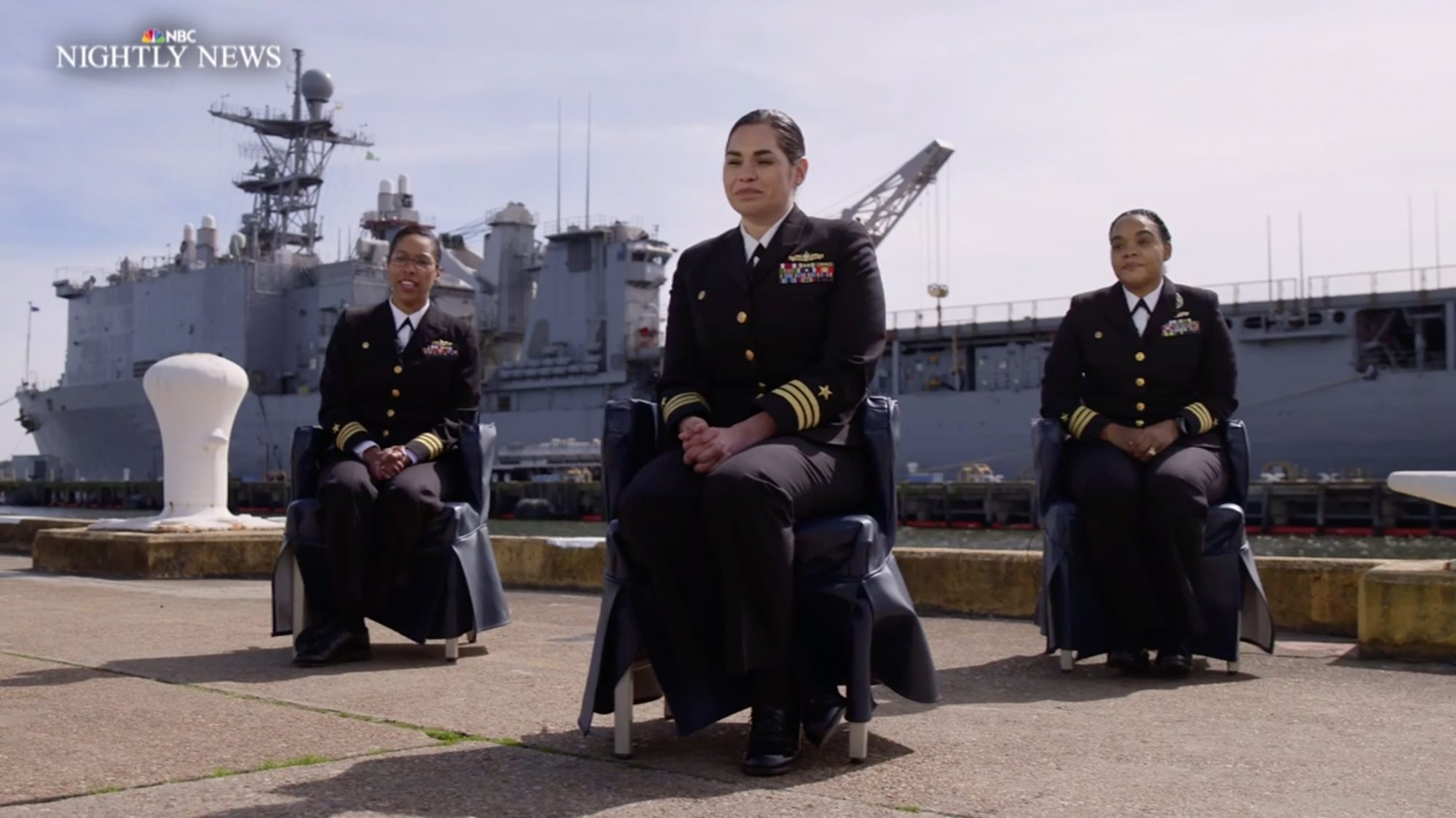 Female Navy Officers