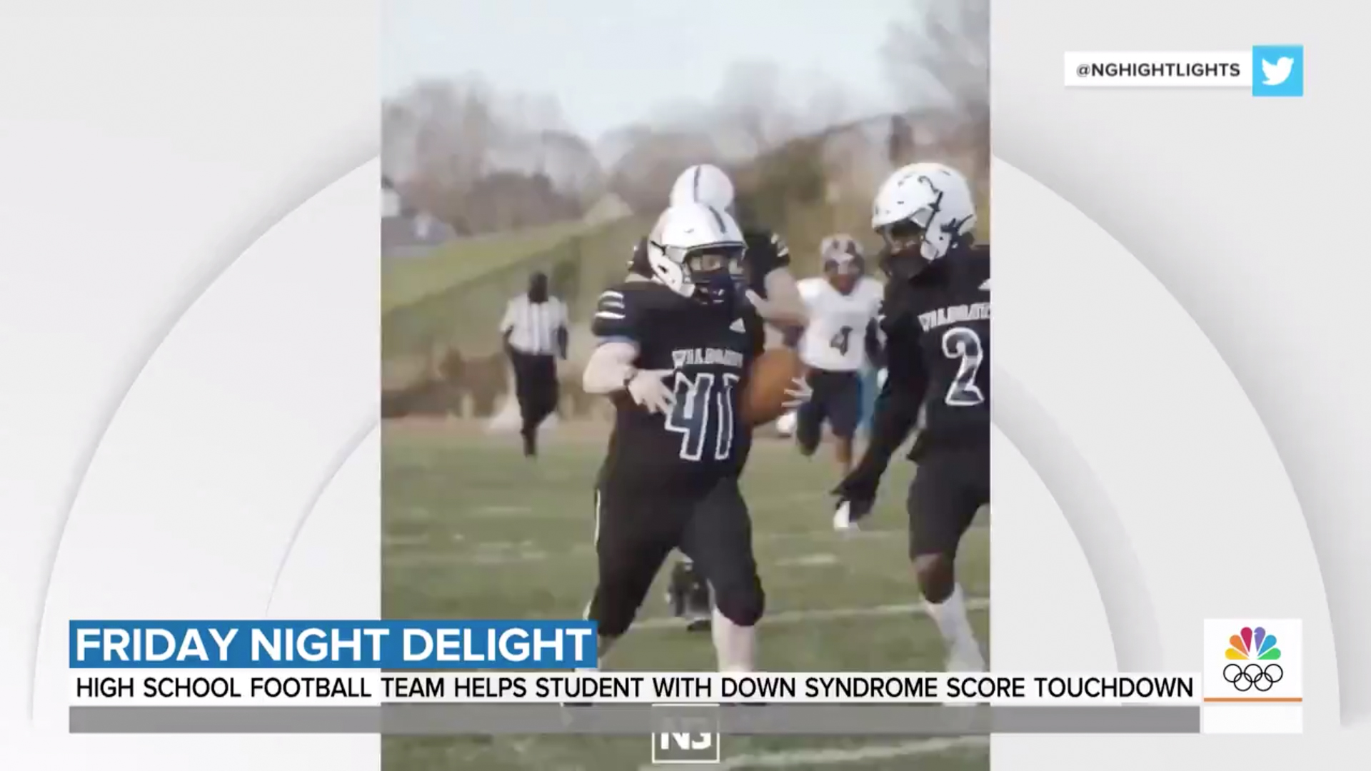 Sam Jordan, who has Down syndrome, and his parents join us to talk about the touchdown he scored at Lake Norman High School in North Carolina on senior night.