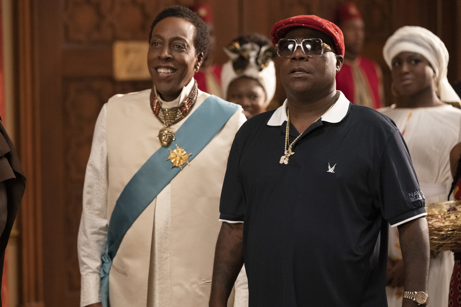 Arsenio Hall and Tracy Morgan star in COMING 2 AMERICA