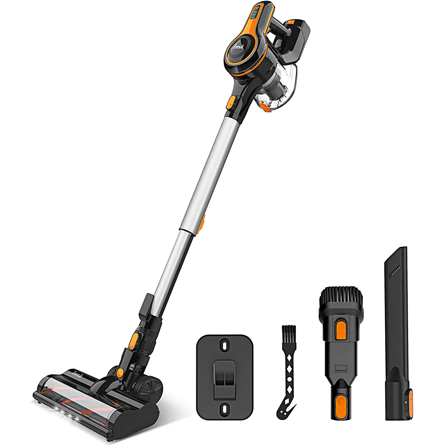 Cordless Vacuum Cleaner, 23Kpa Strong Suction Stick