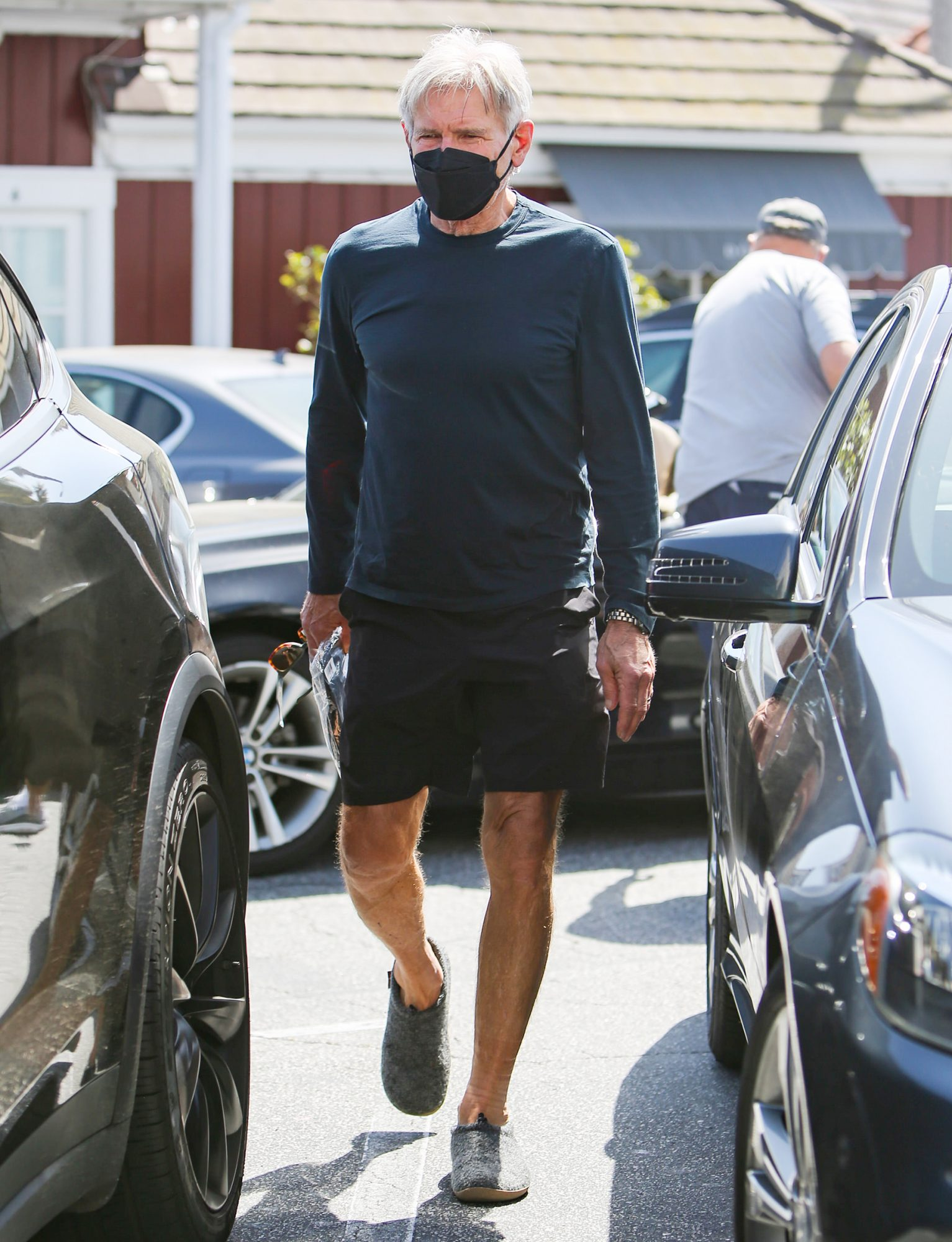 Harrison Ford is seen on March 30, 2021 in Los Angeles, California