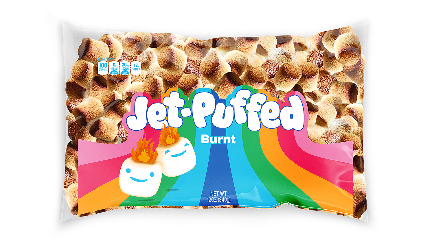 Jet-Puffed Burnt Marshmallows