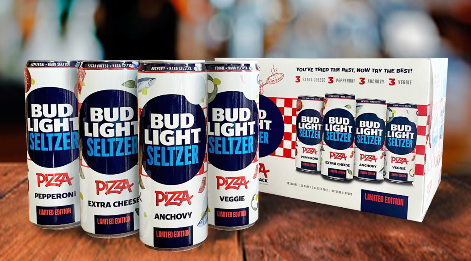 Bud Light Seltzer Pizza Pack