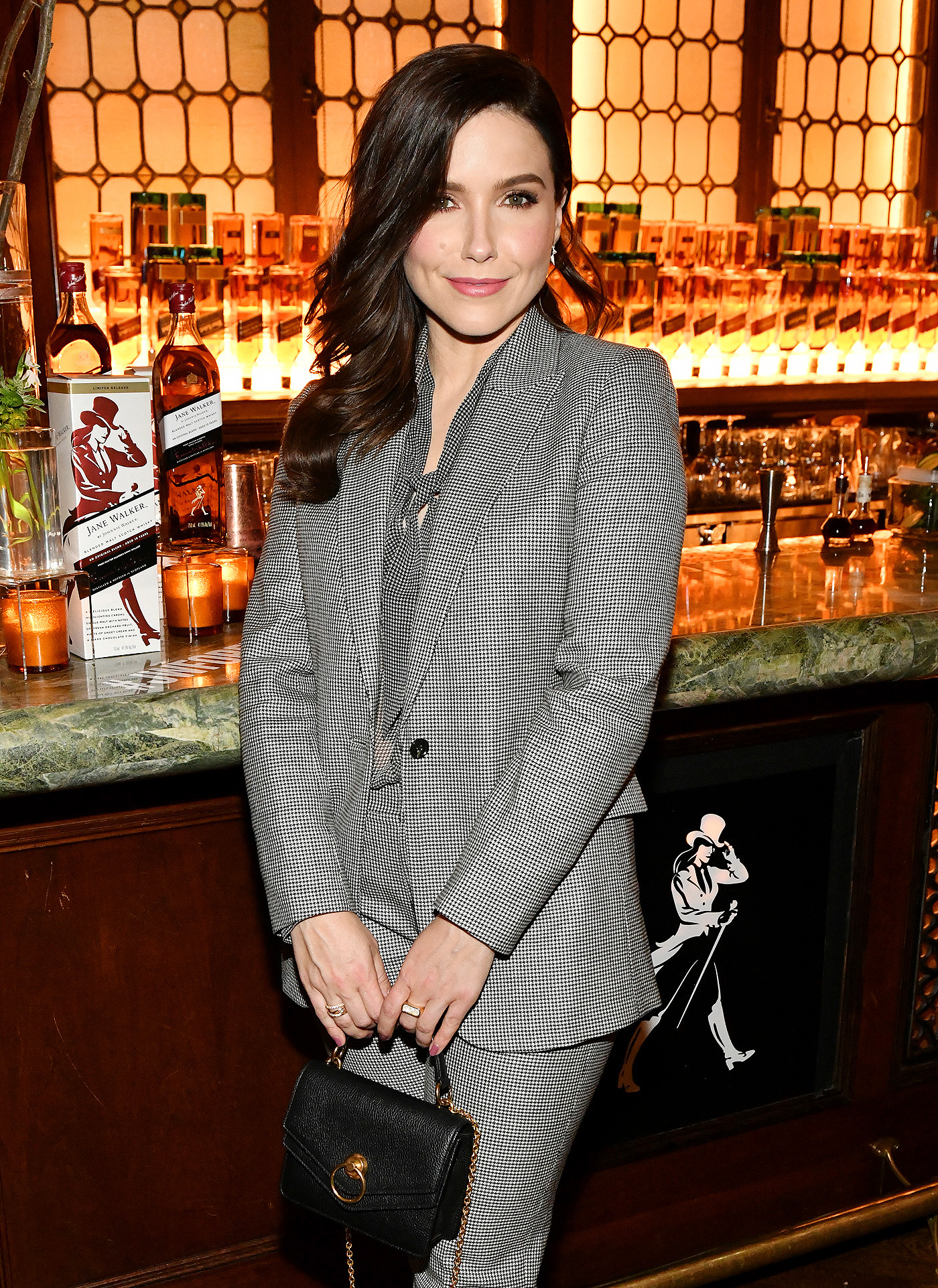 Sophia Bush joins Jane Walker by Johnnie Walker and the ERA Coalition in standing with the Equal Rights Amendment at The Campbell Bar on March 10, 2020 in New York City.