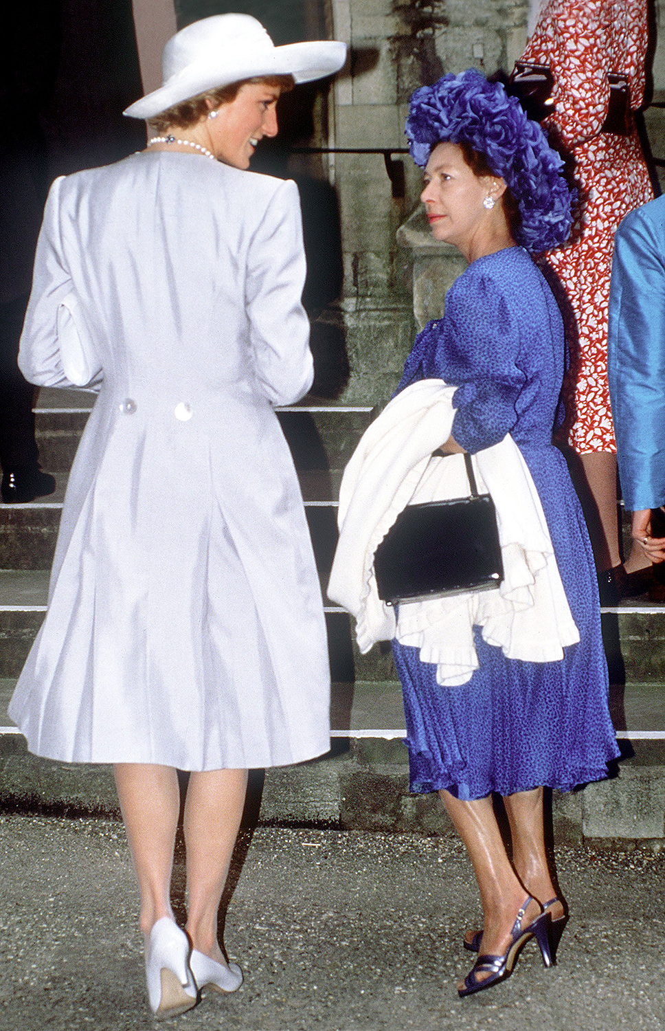 Princess Diana and Margaret