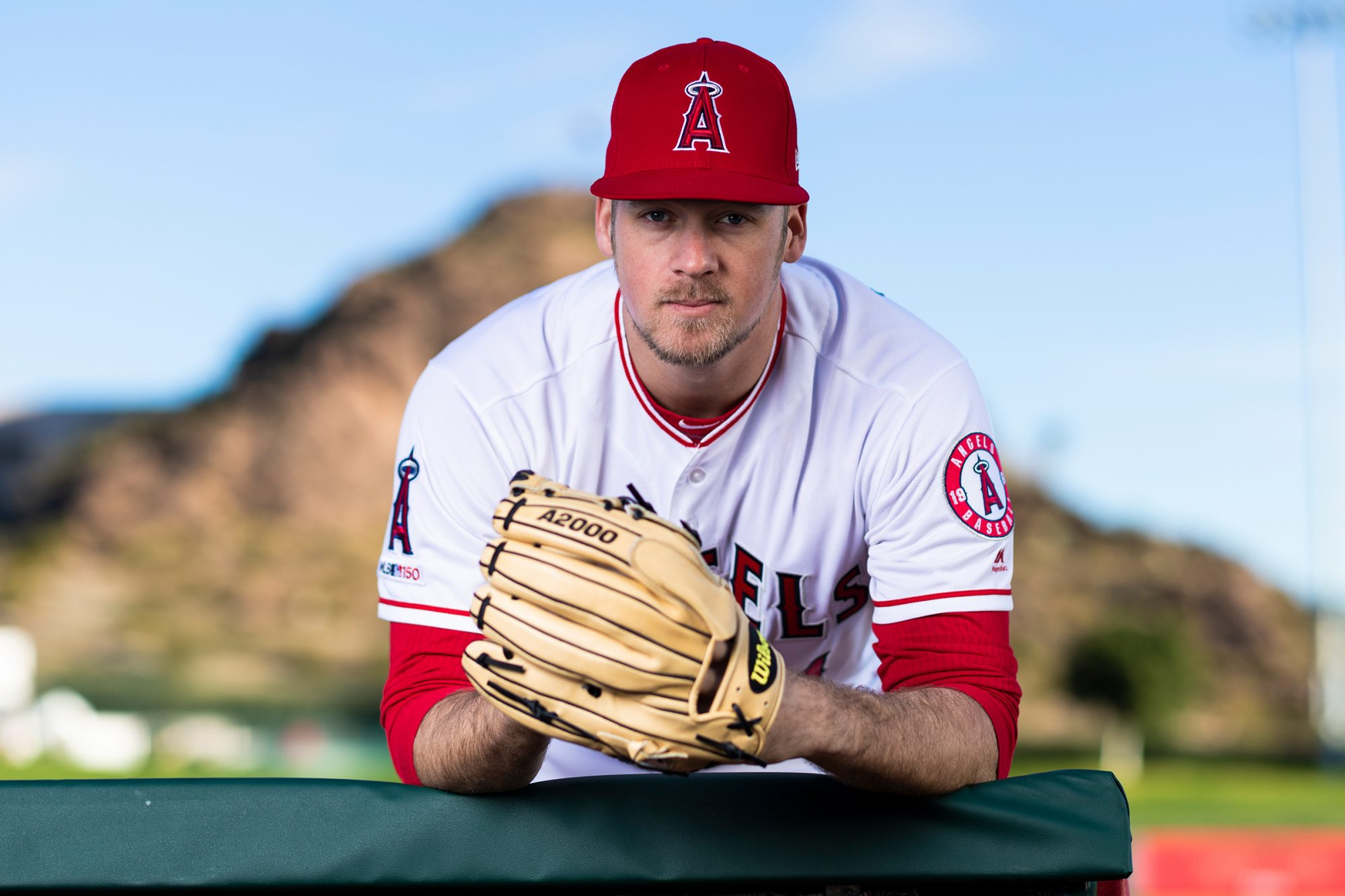 Los Angeles Angels pitcher Ty Buttrey