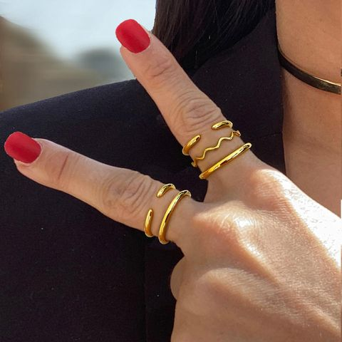 SUCCESS 18K GOLD VERMEIL STACKING RING Sonia Hou Jewelry https://soniahou.com/collections/bestsellers/products/success-adjustable-ring-18k-gold-vermeil