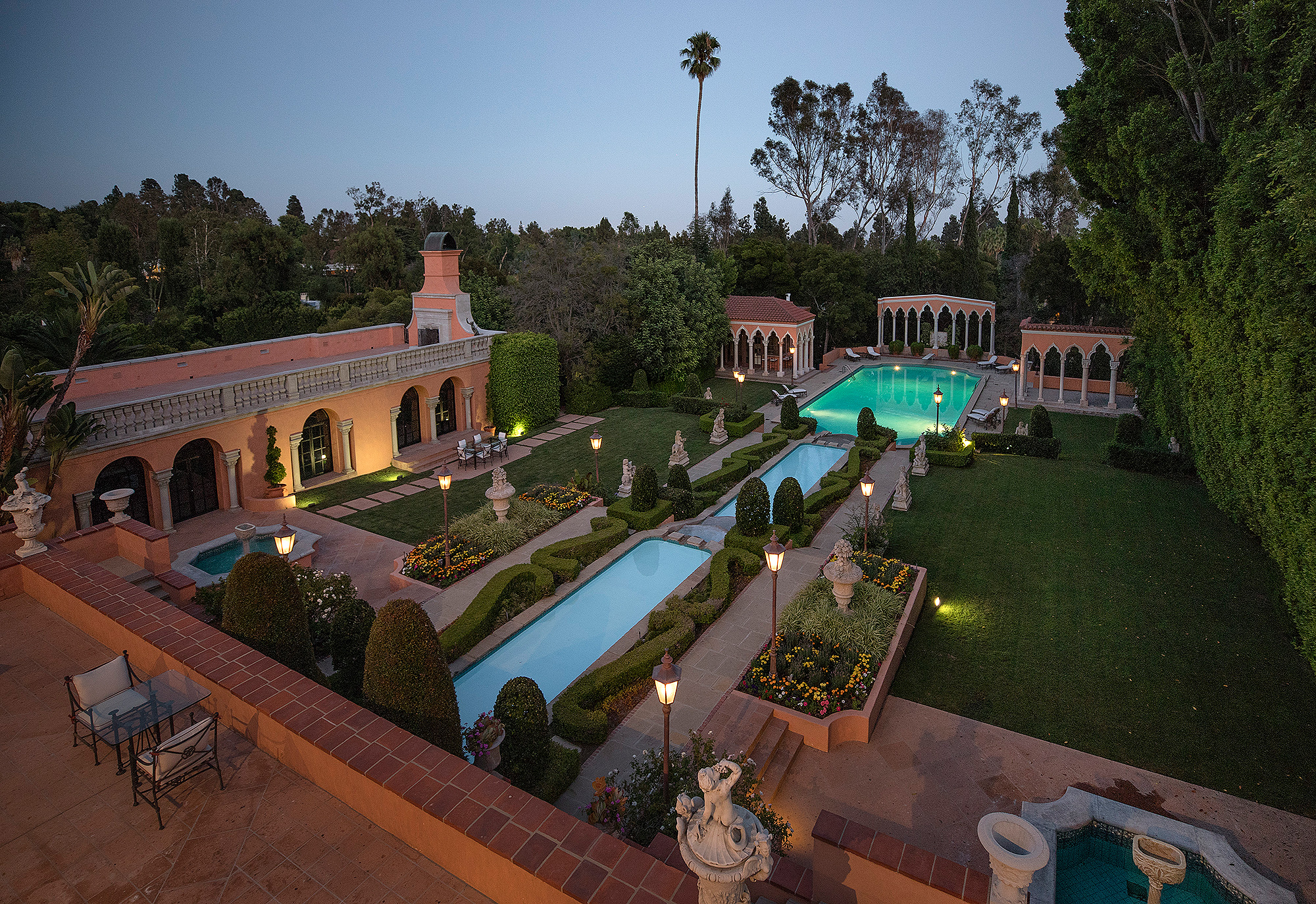 Hearst Estate Relisted for $89.75M