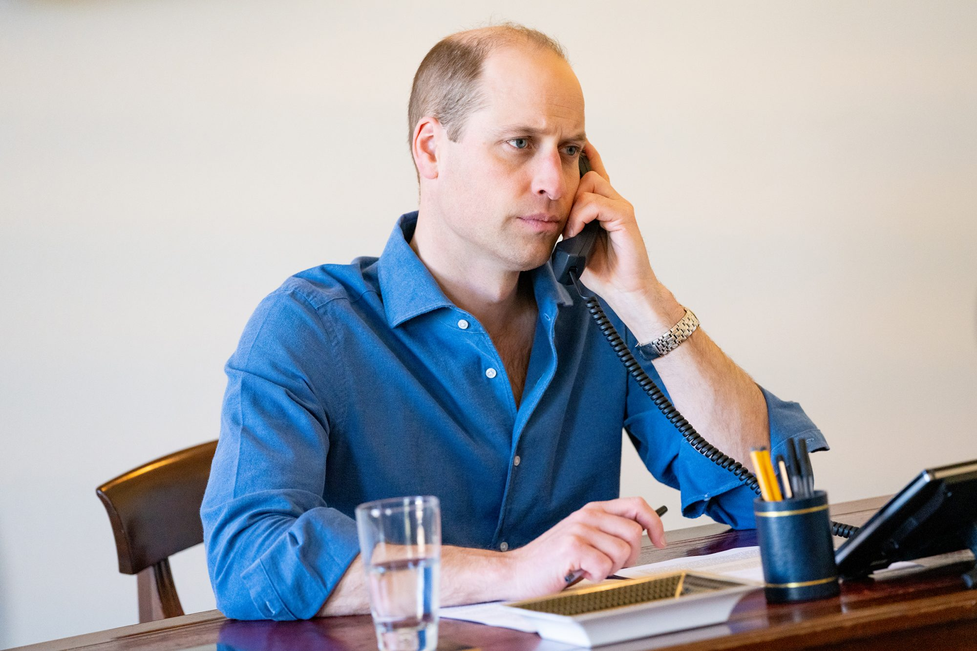 Prince William Thanks Frontline Workers