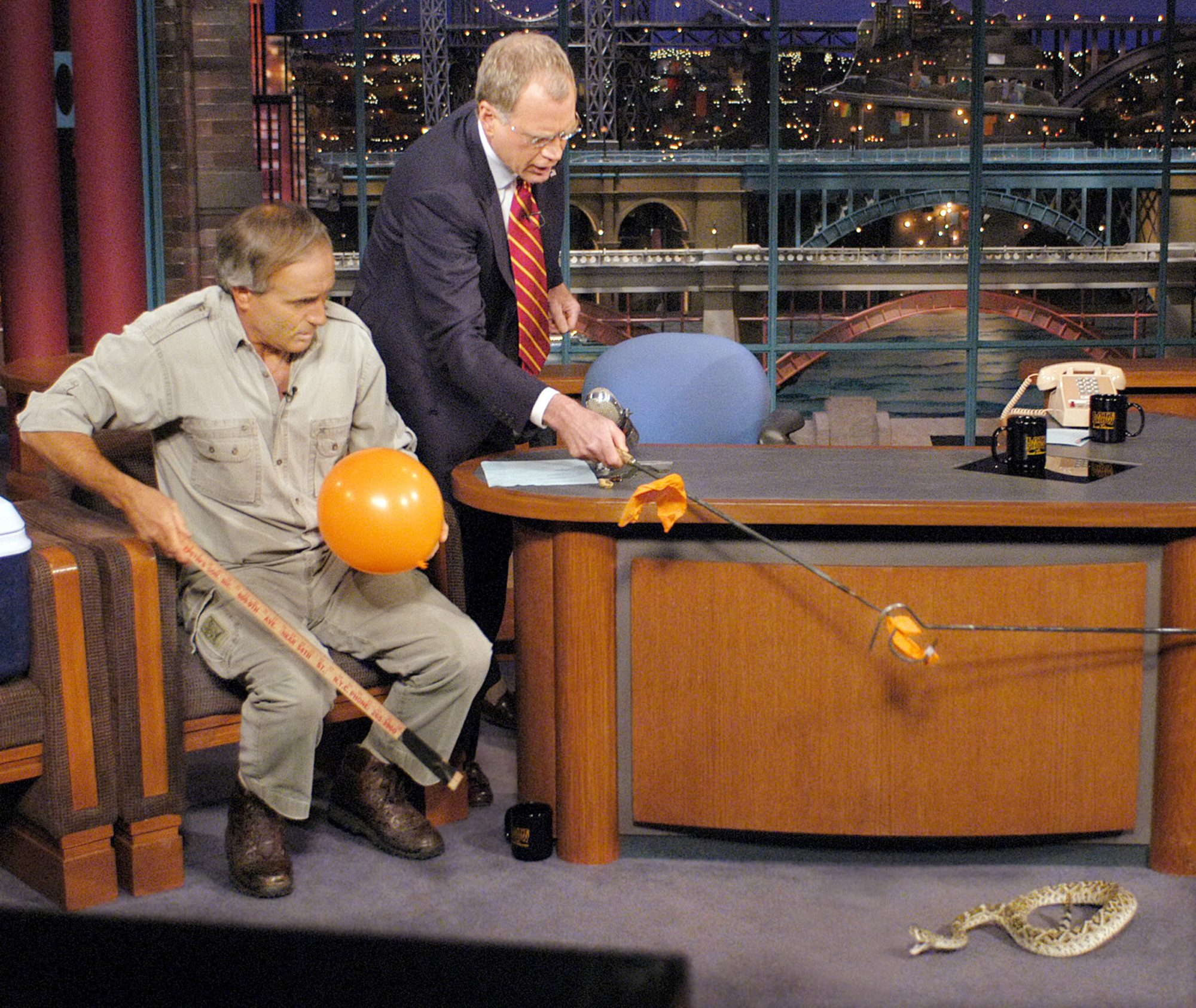 The Late Show with David Letterman Jack Hanna