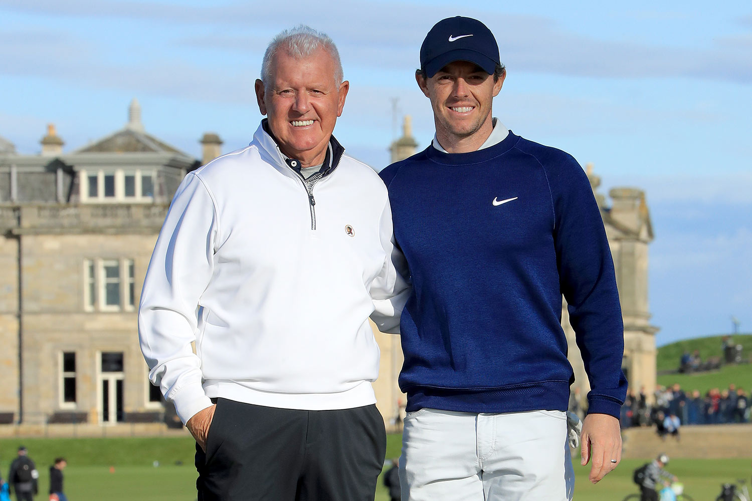 Gerry and Rory McIlroy