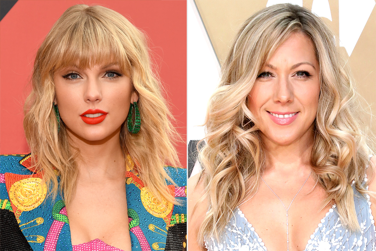Taylor Swift and Colbie Caillat