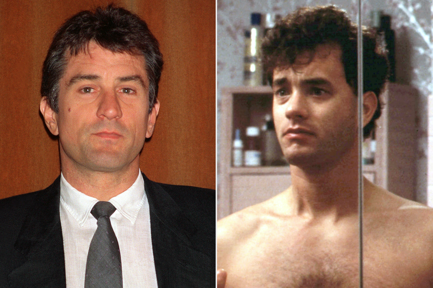 Robert De Niro; Tom Hanks in Big