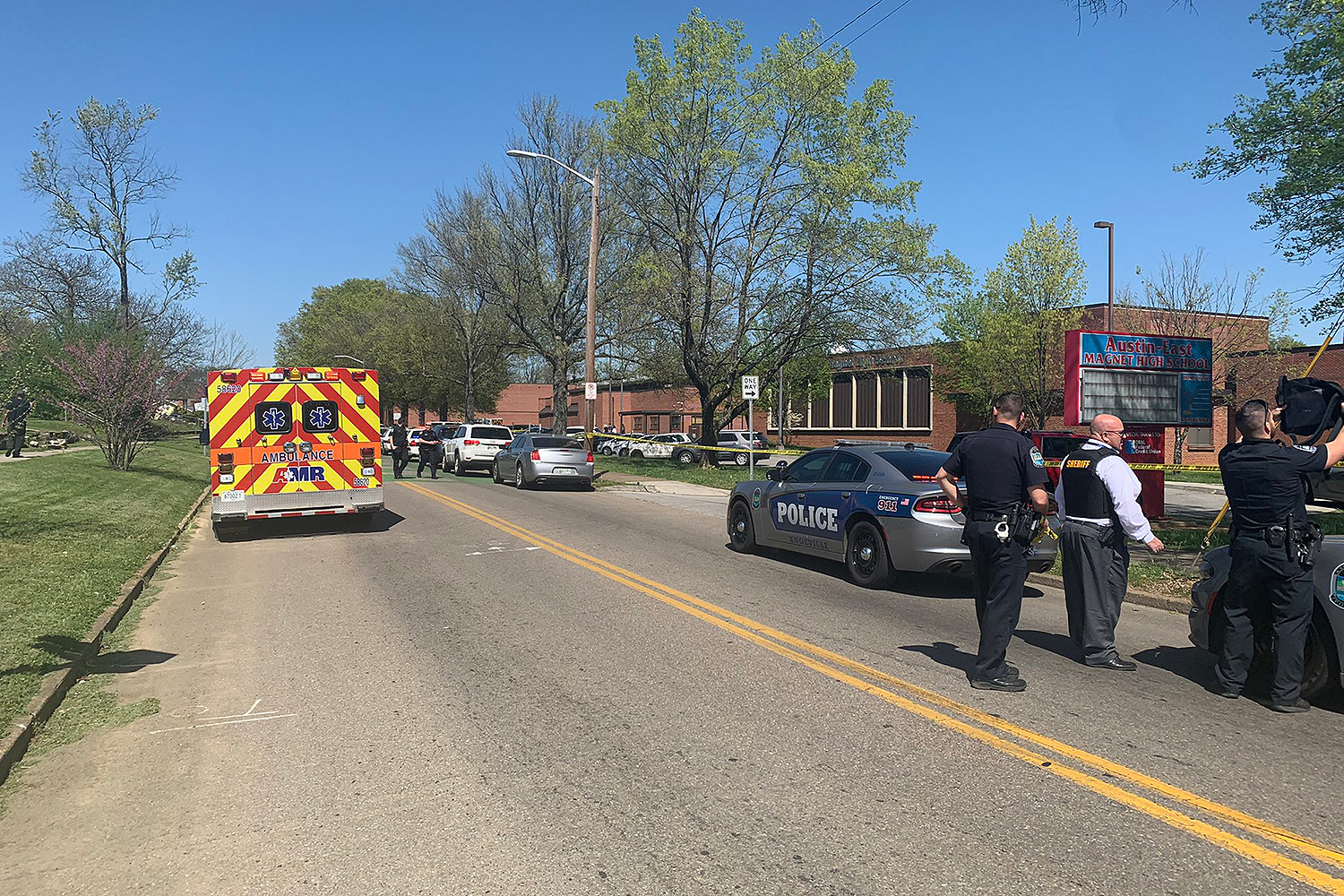 Austin-East Magnet High School shooting