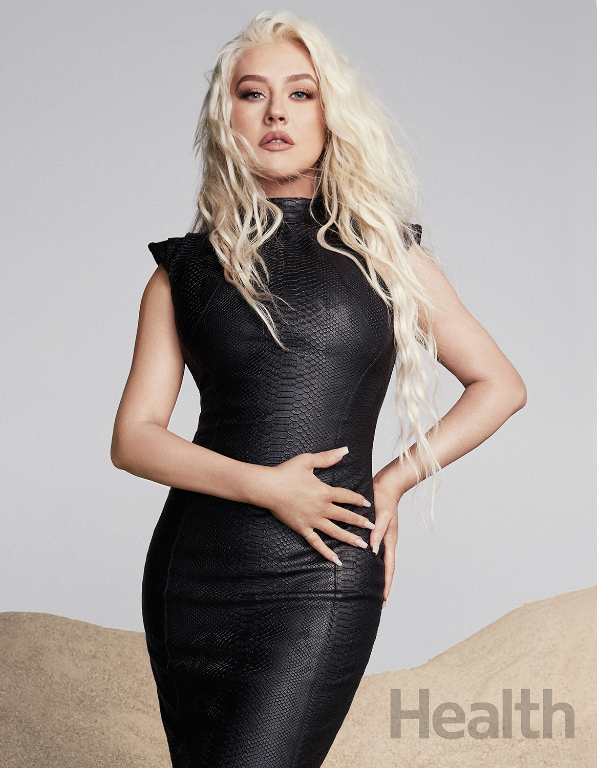 Christina Aguilera Health cover