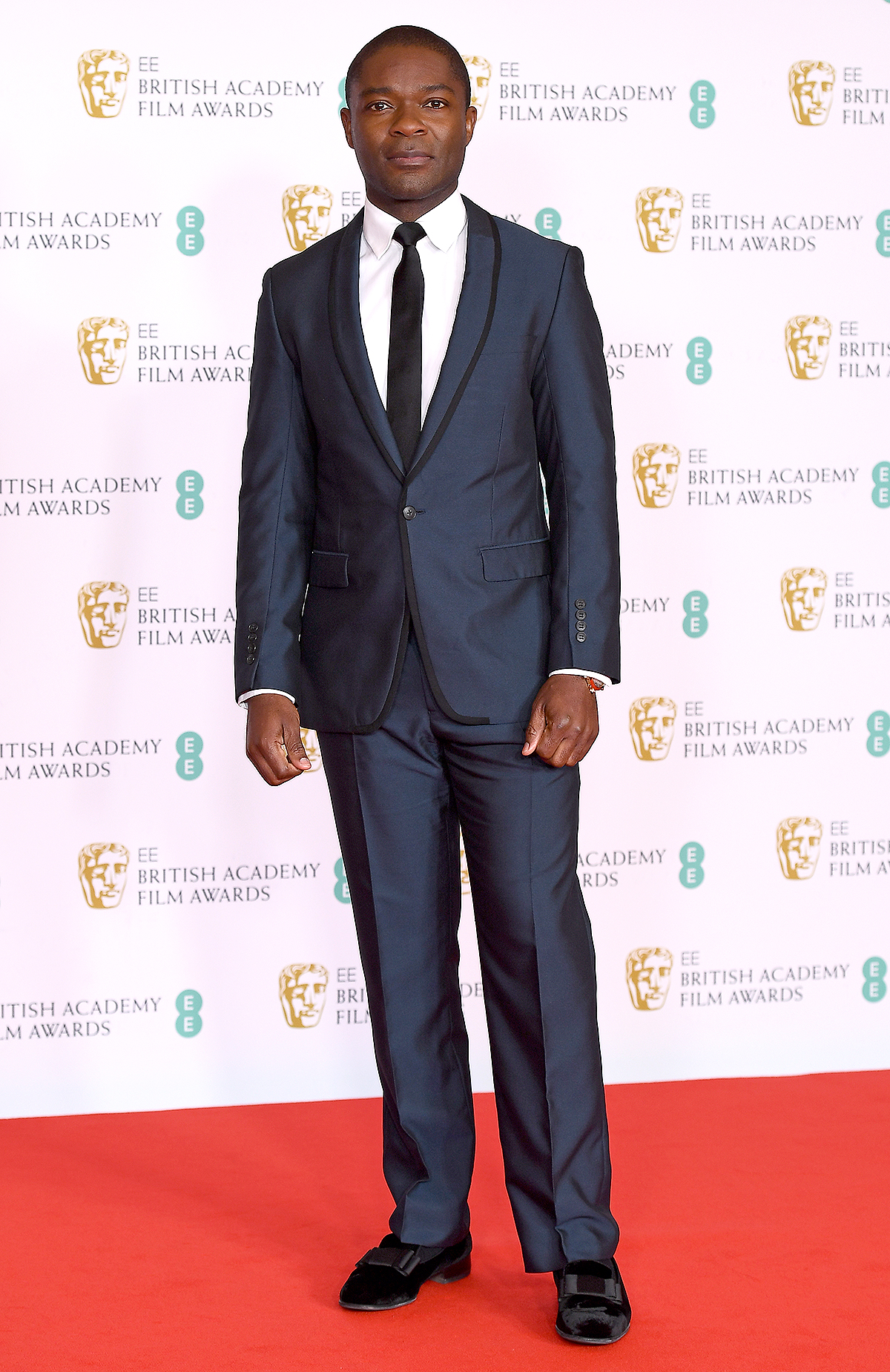 Awards Presenter David Oyelowo attends the EE British Academy Film Awards 2021 at the Royal Albert Hall on April 11, 2021 in London, England.