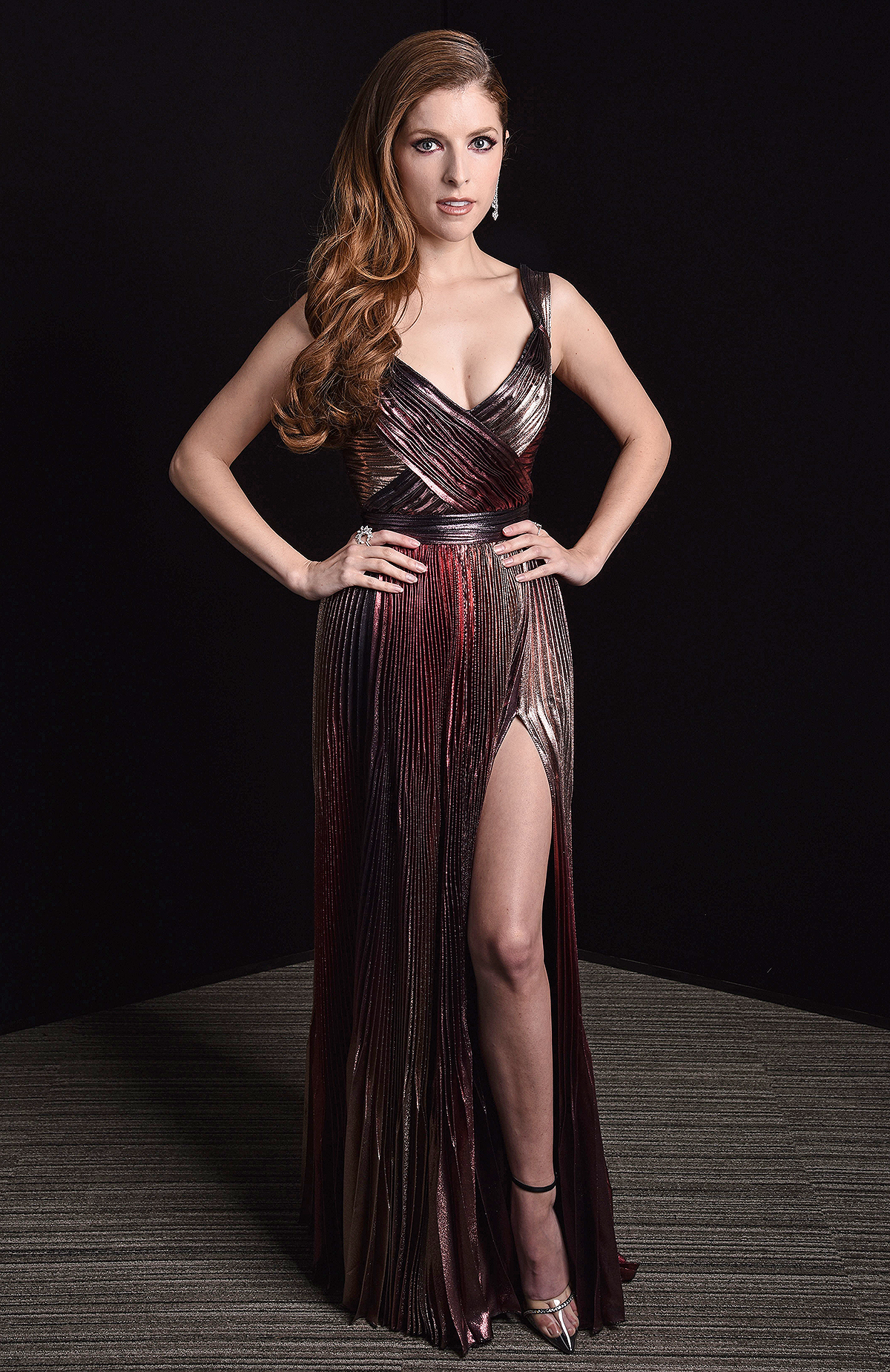 Anna Kendrick Exclusive - 74th British Academy Film Awards, Portraits, Los Angeles, USA - 11 Apr 2021 Wearing Zuhair Murad