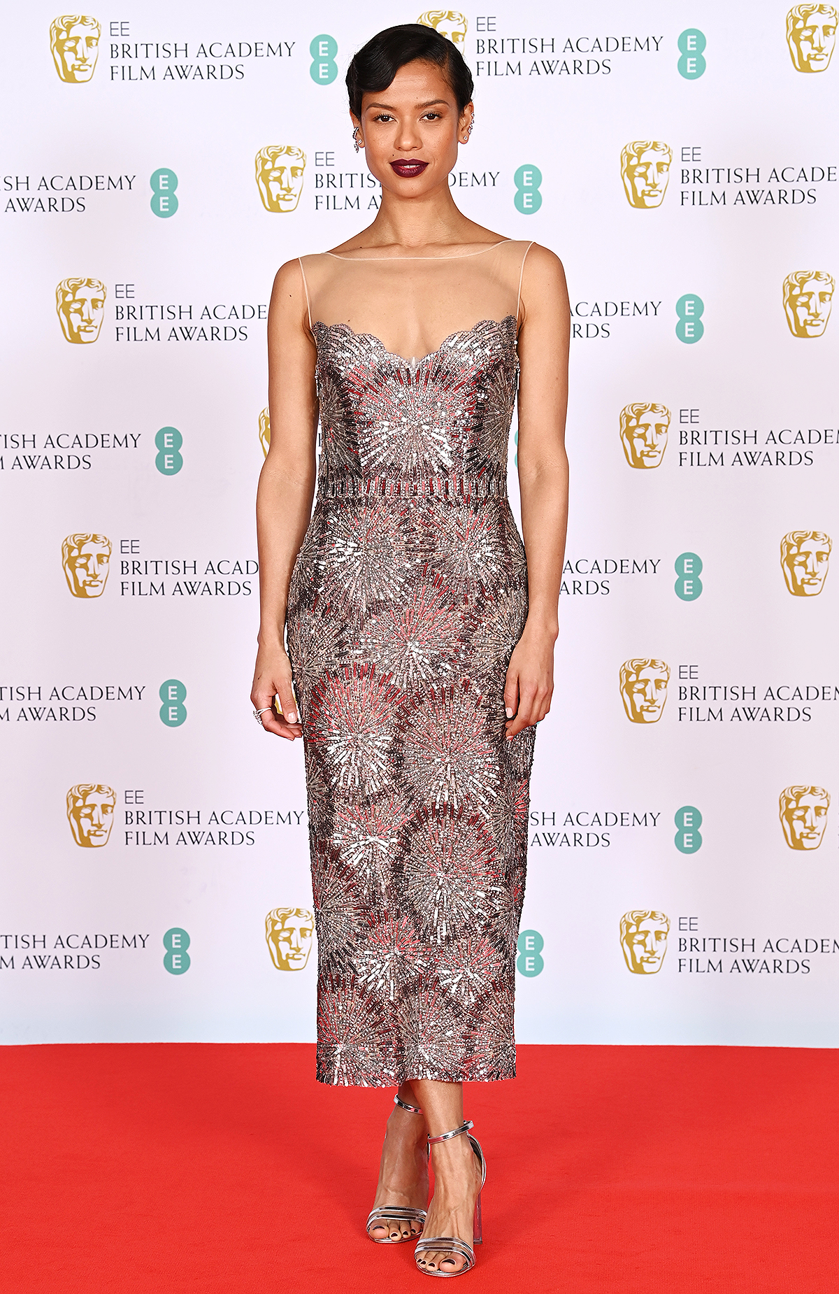 Gugu Mbatha-Raw 74th British Academy Film Awards, Arrivals, Royal Albert Hall, London, UK - 11 Apr 2021 Wearing Louis Vuitton