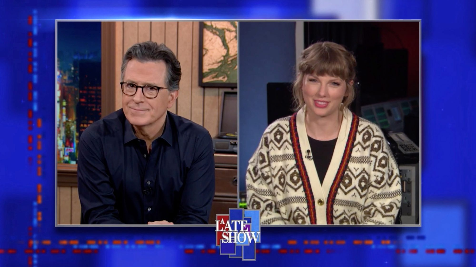 "Taylor Swift's Mood Board Proves ""Hey Stephen"" Isn't About Stephen Colbert (Or Does It?)"