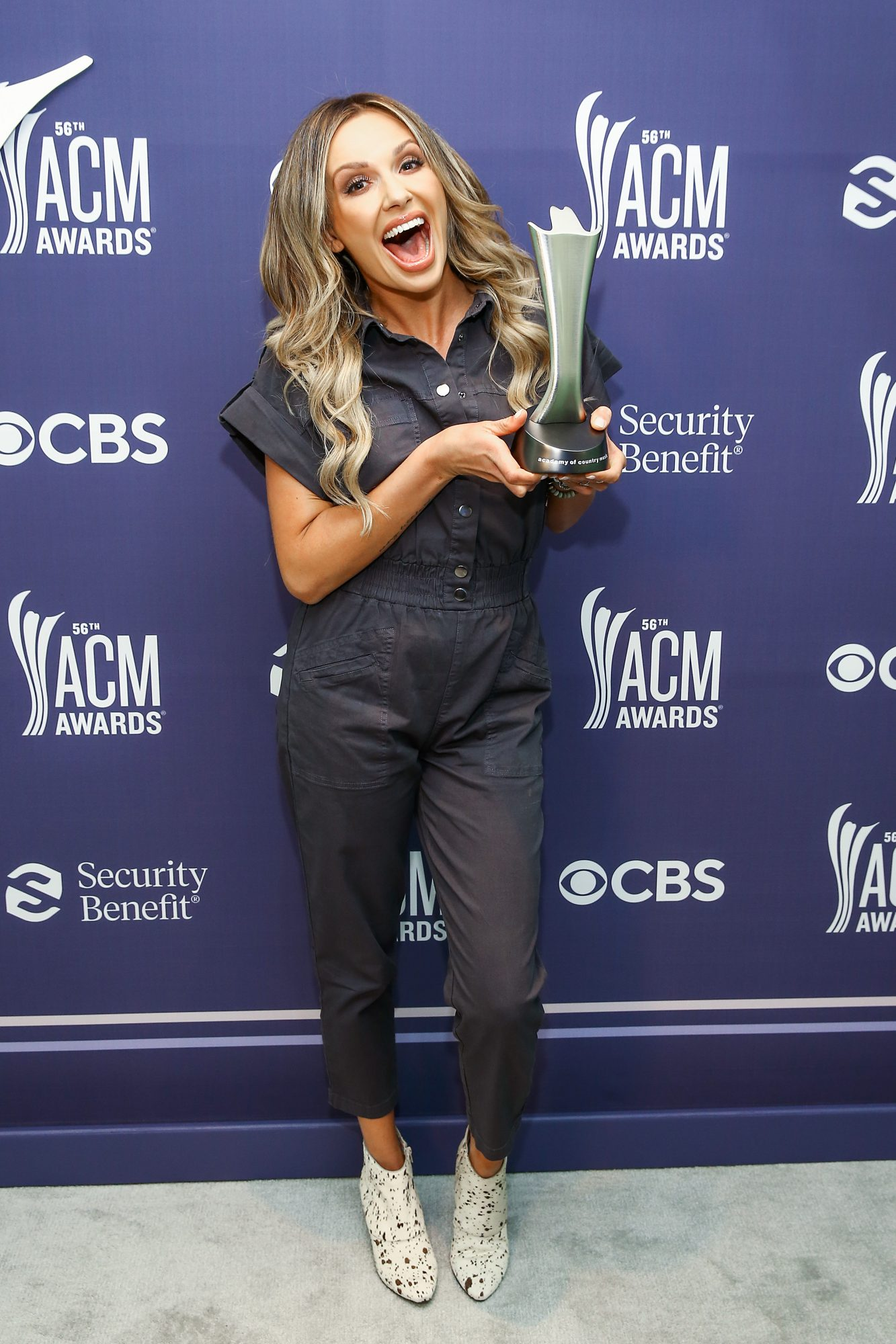Carly Pearce and Lee Brice ACM Awards win