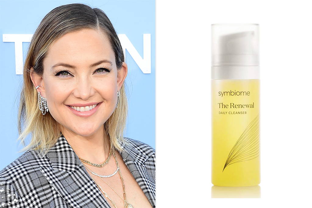kate hudson ;SYMBIOME The Renewal Daily Cleanser