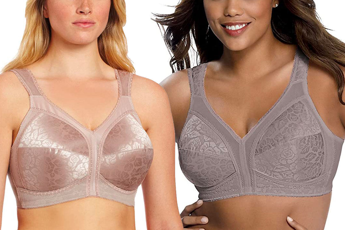 Playtex Women's 18 Hour Original Comfort Strap Full Coverage Bra
