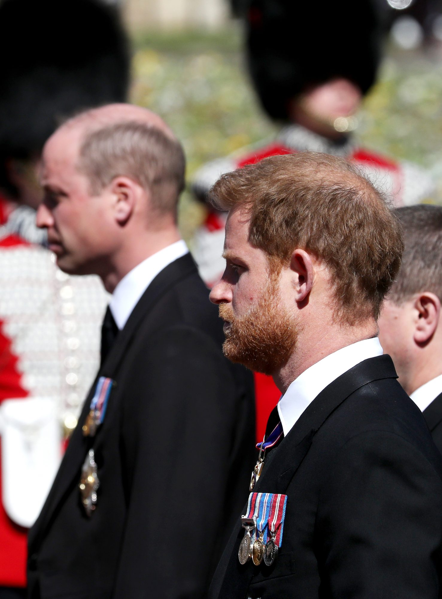 Prince William, Duke of Cambridge and Prince Harry, Duke of Sussex