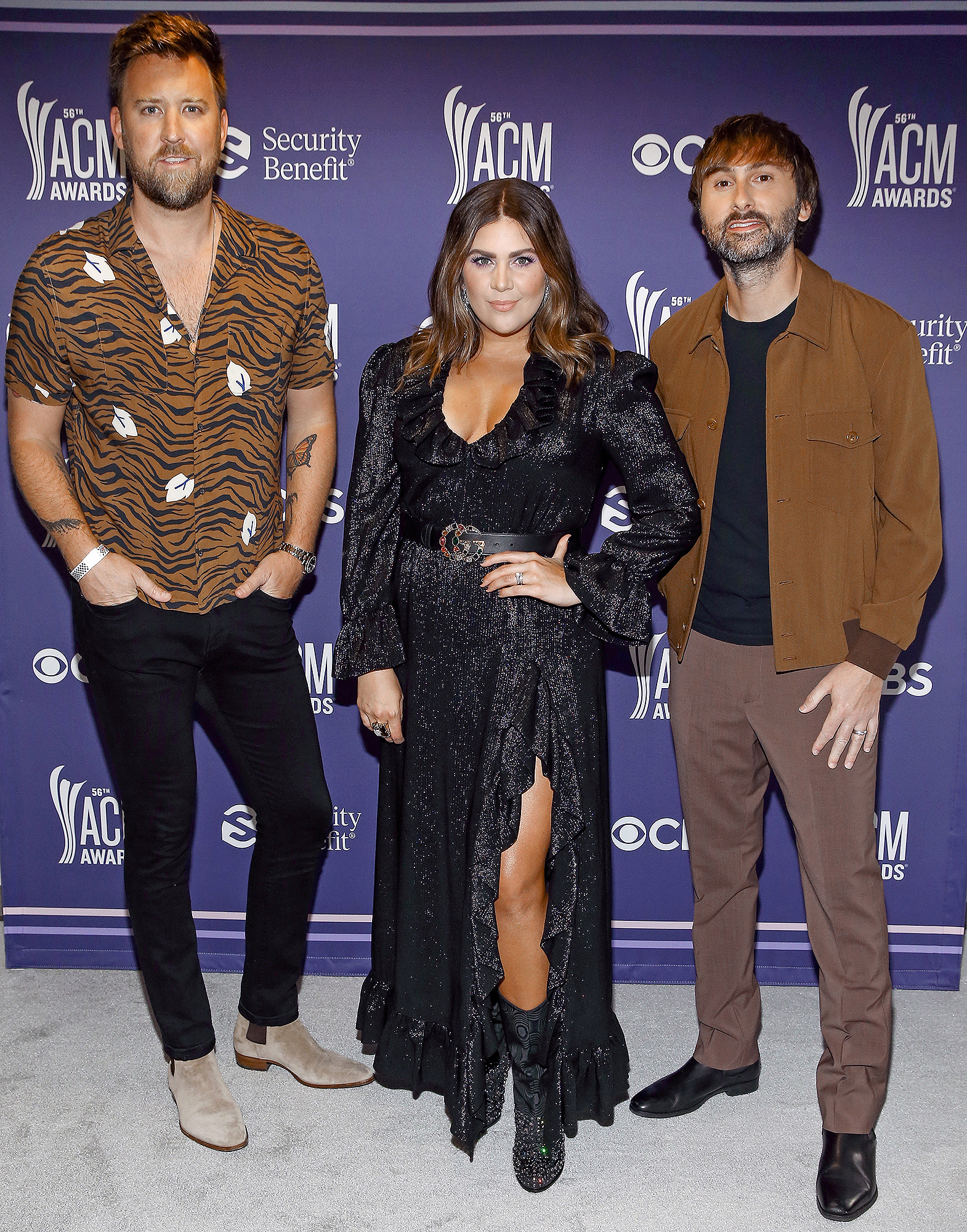 Charles Kelley, Hillary Scott, and Dave Haywood of Lady A