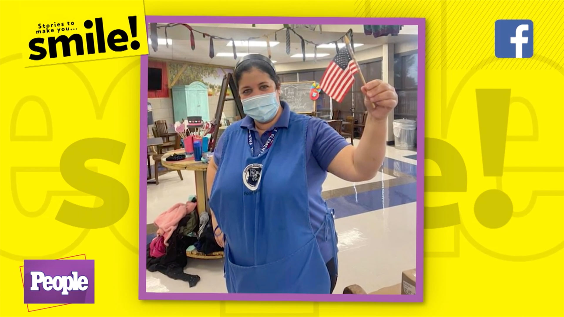 Cafeteria Manager Passes Citizenship Test