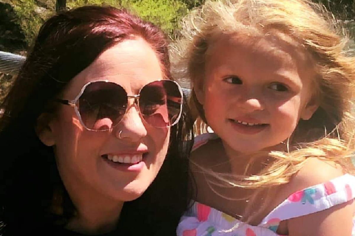 Kassie Dewey and her daughter 5-year-old Lilly