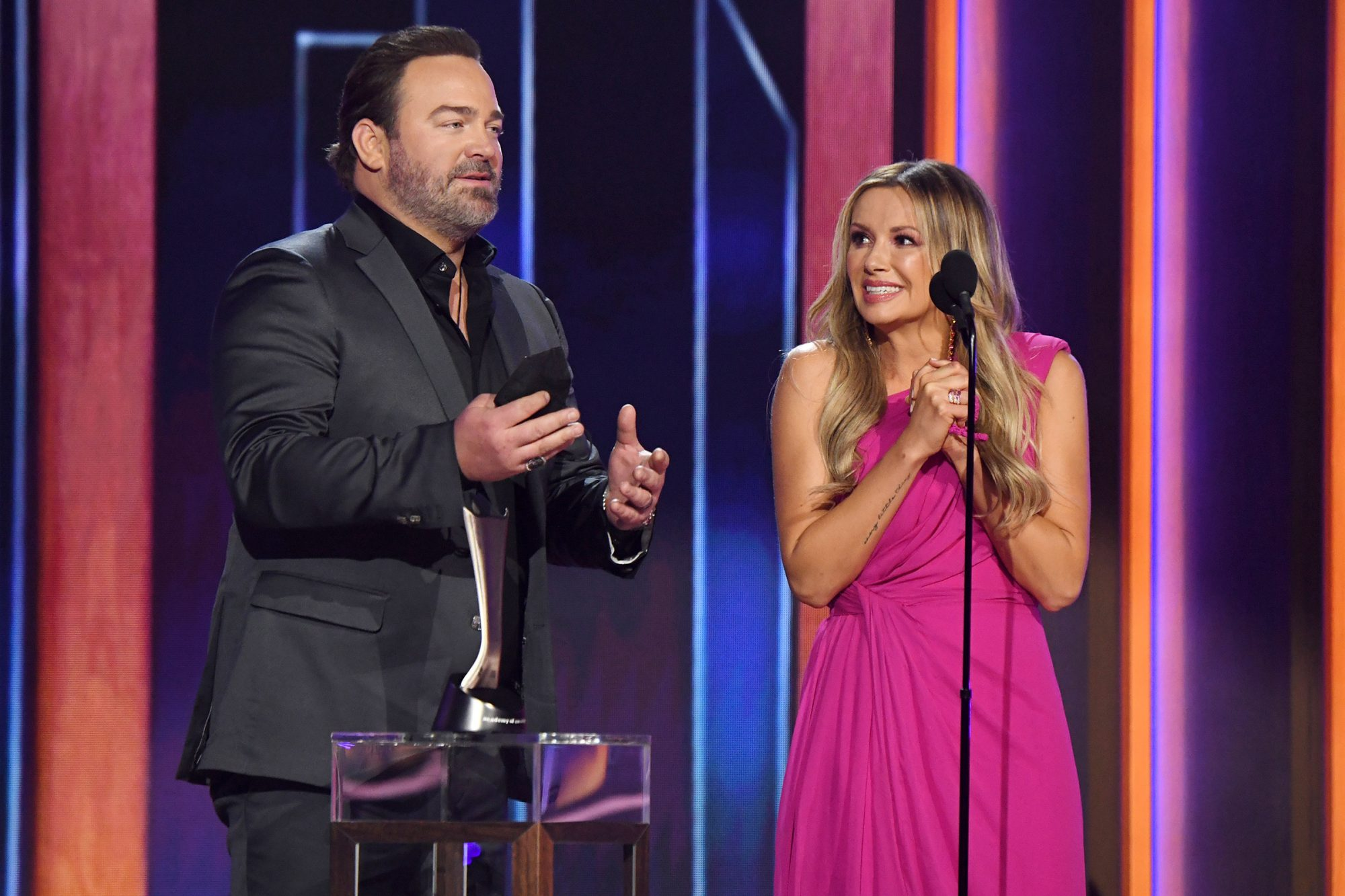 Lee Brice and Carly Pearce