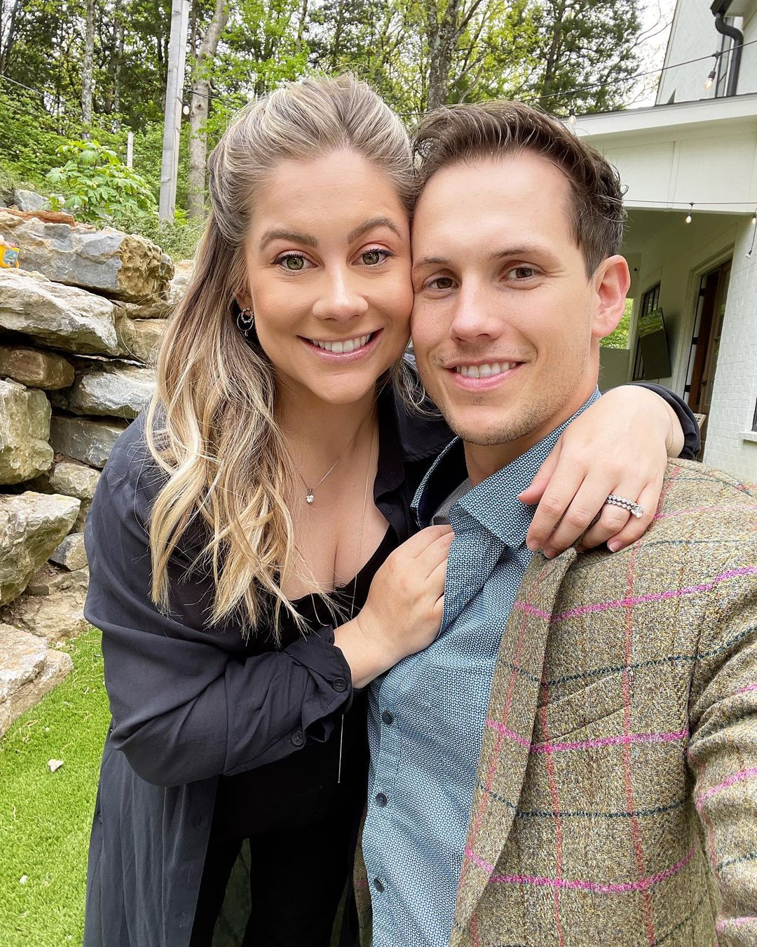 Shawn Johnson East and Andrew East