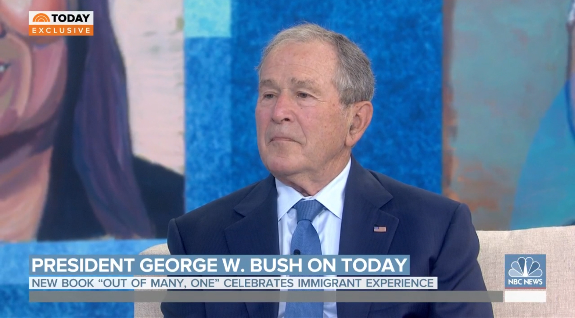 Former President George W. Bush: Immigration system 'needs to be reformed'