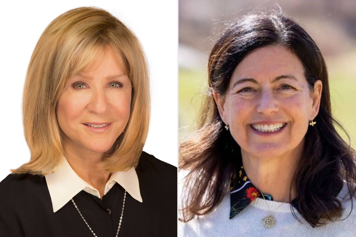 heather Reisman and Laurie David