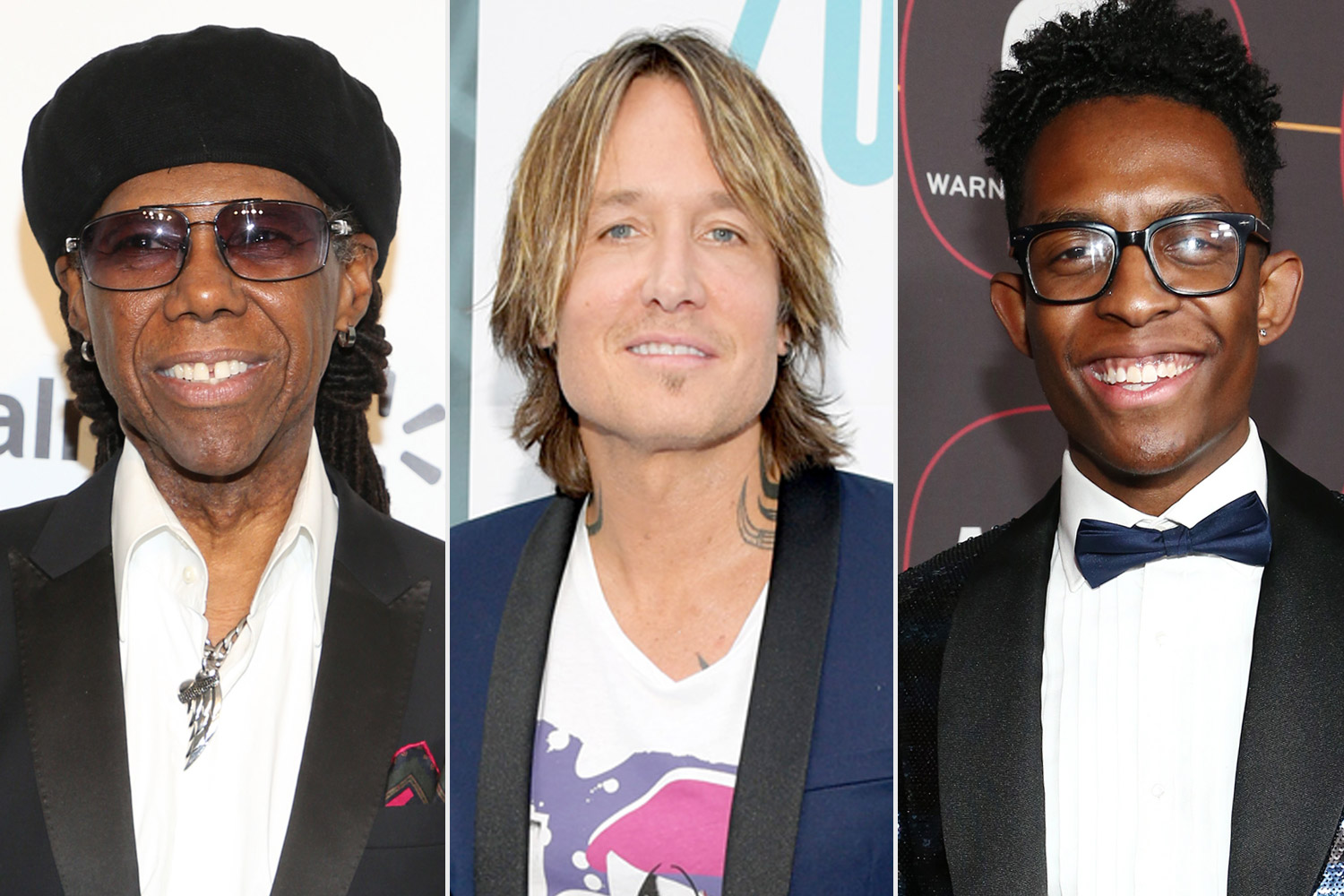 Keith Urban, Breland and Nile Rodgers