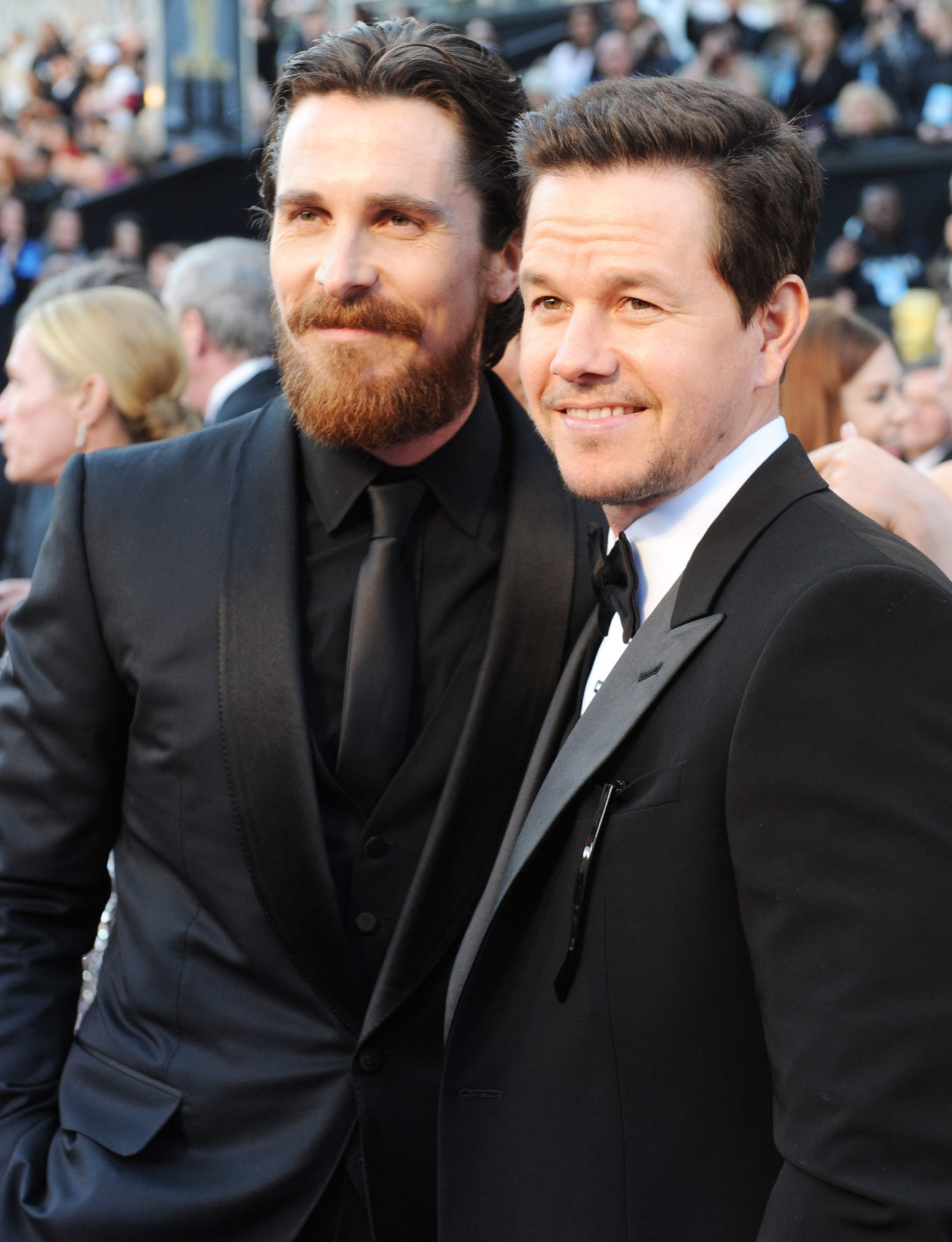 2011 Academy Awards, Christian Bale, Mark Wahlberg