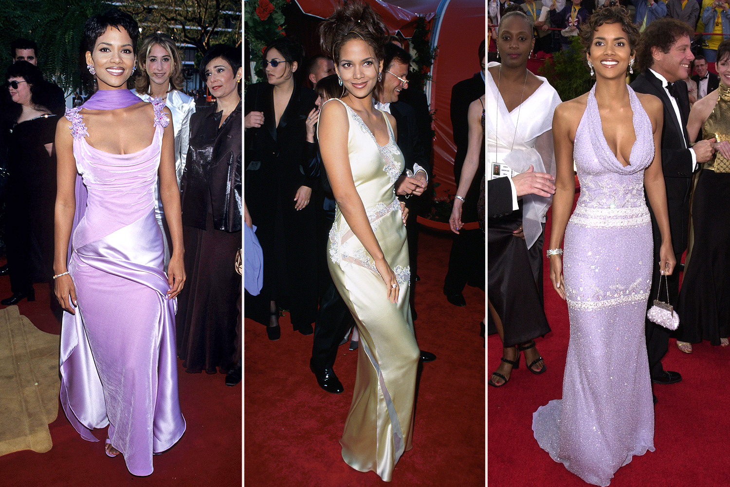Halle Berry Academy Awards Throwback