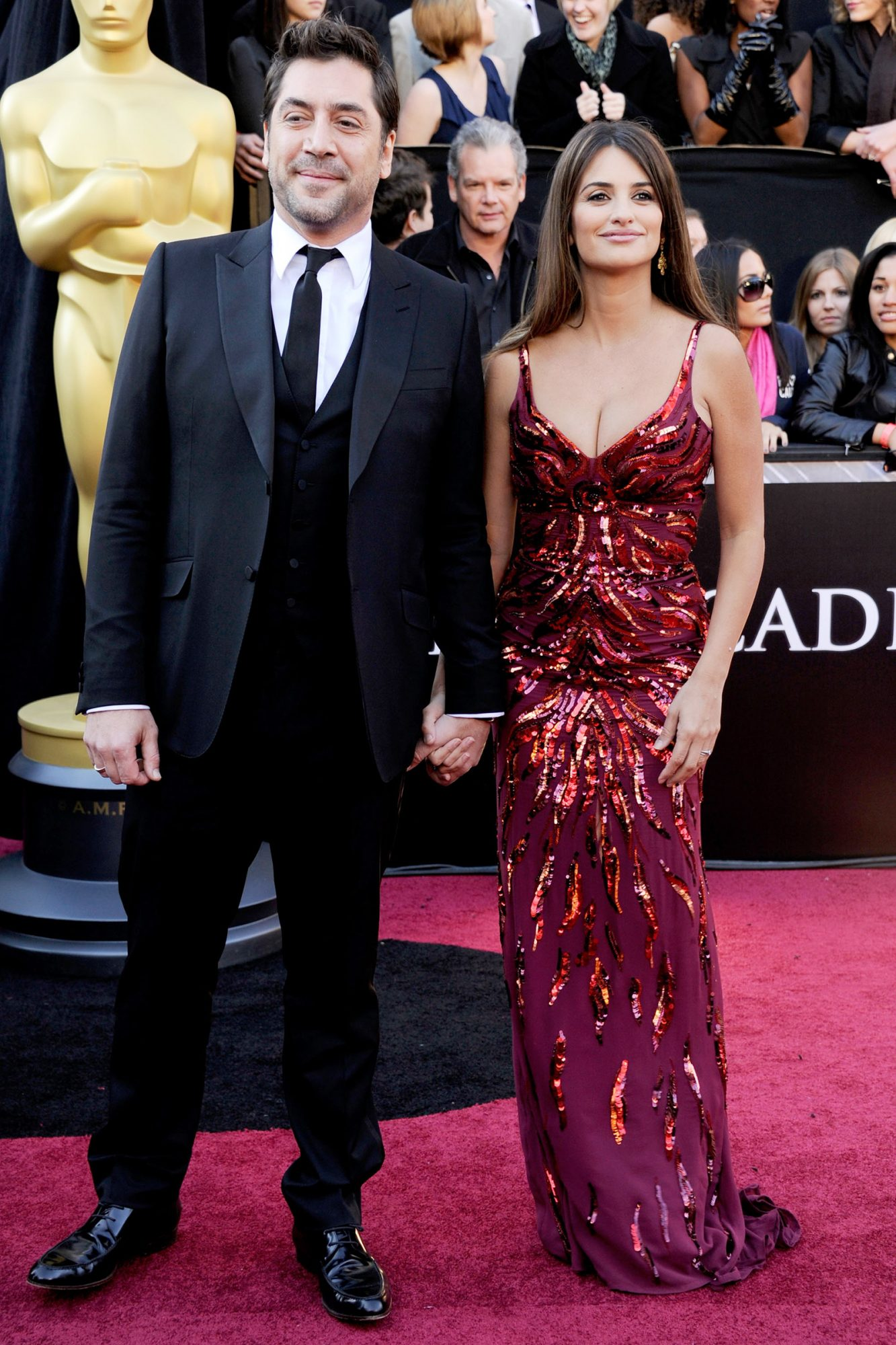 2011 Academy Awards, Javier Bardem and Penelope Cruz