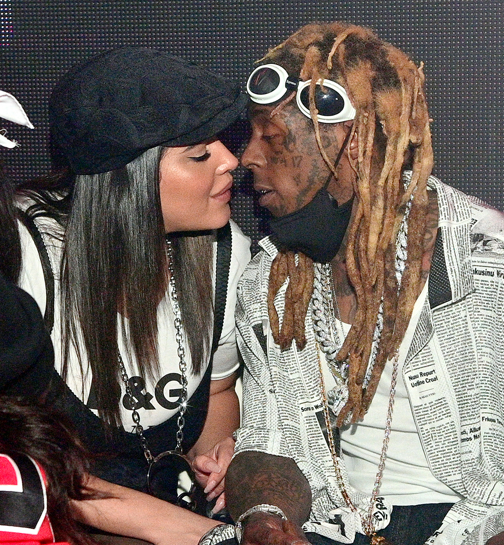 Denise Bidot and Lil Wayne