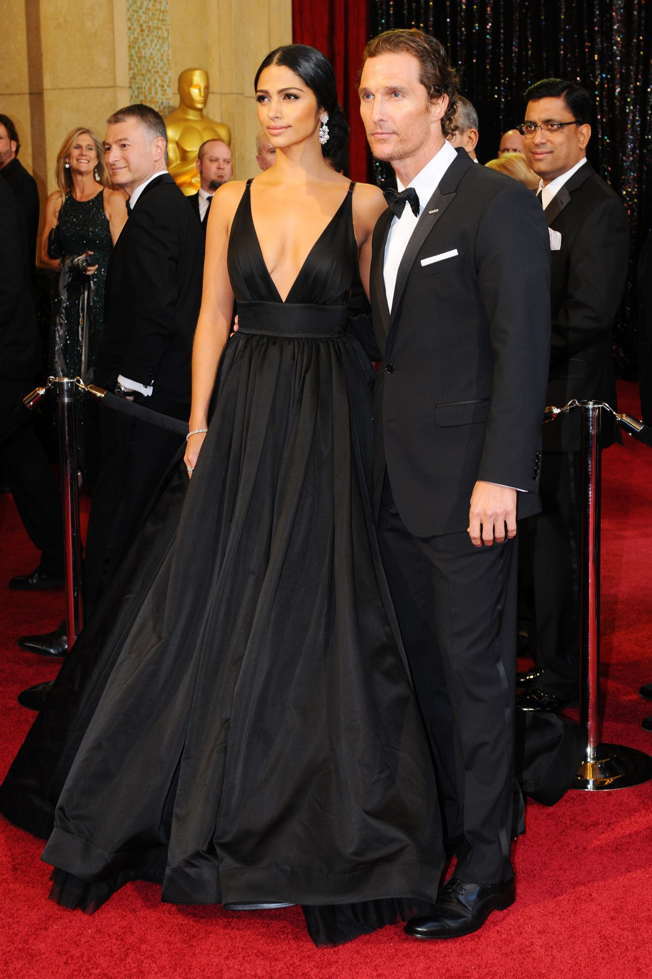 2011 Academy Awards, Camila Alves and Matthew McConaughey