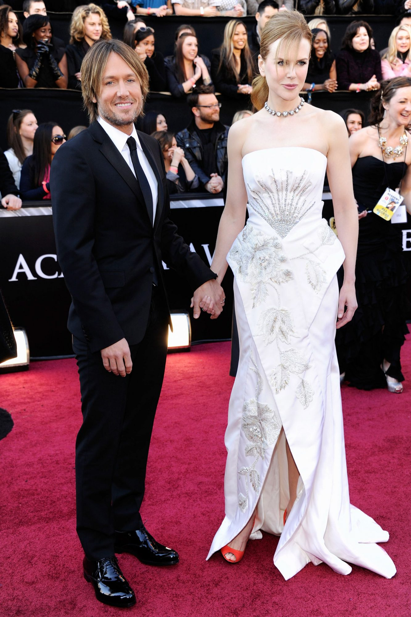 2011 Academy Awards, Keith Urban, Nicole Kidman