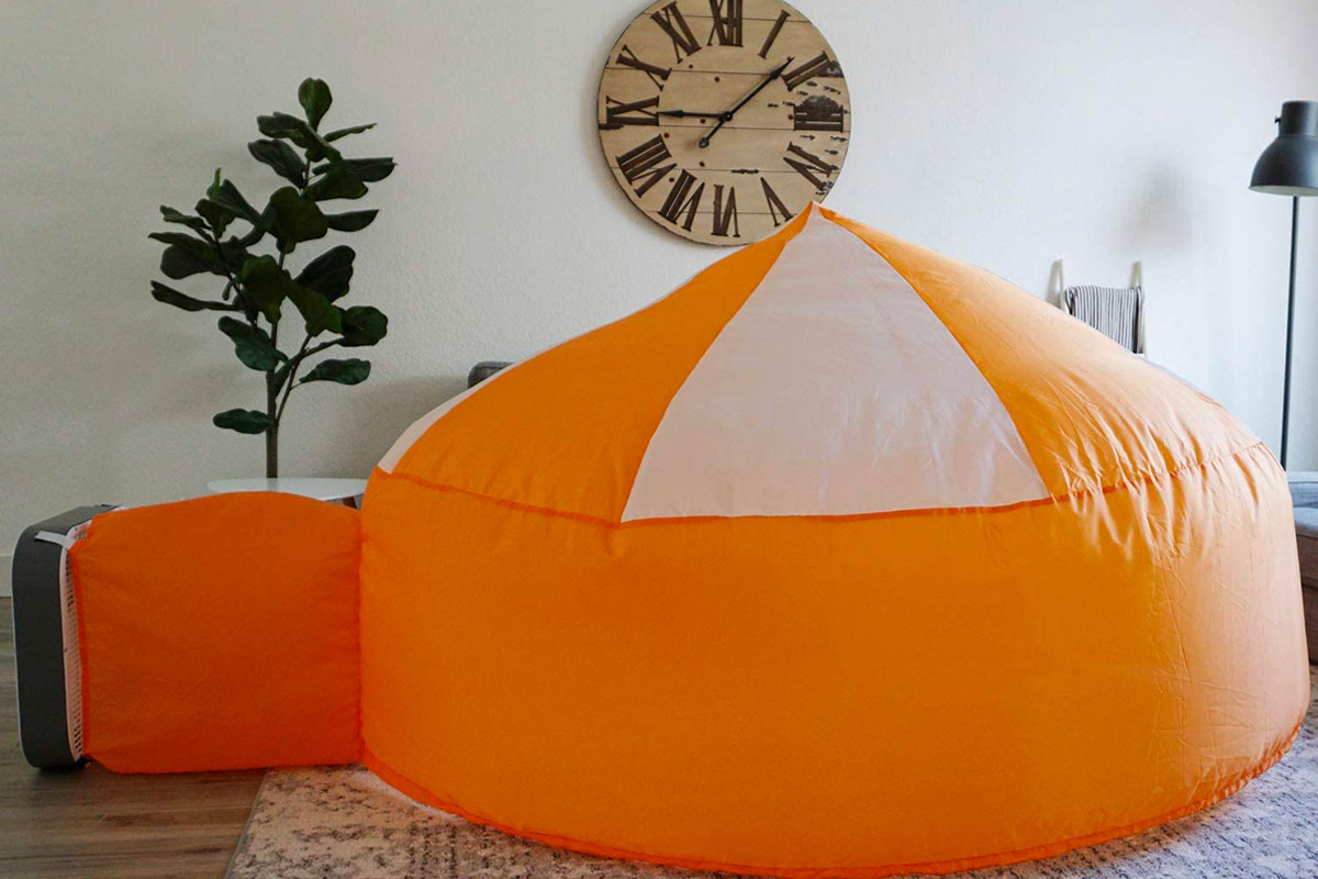 The Original AirFort Build A Fort in 30 Seconds, Inflatable Fort for Kids