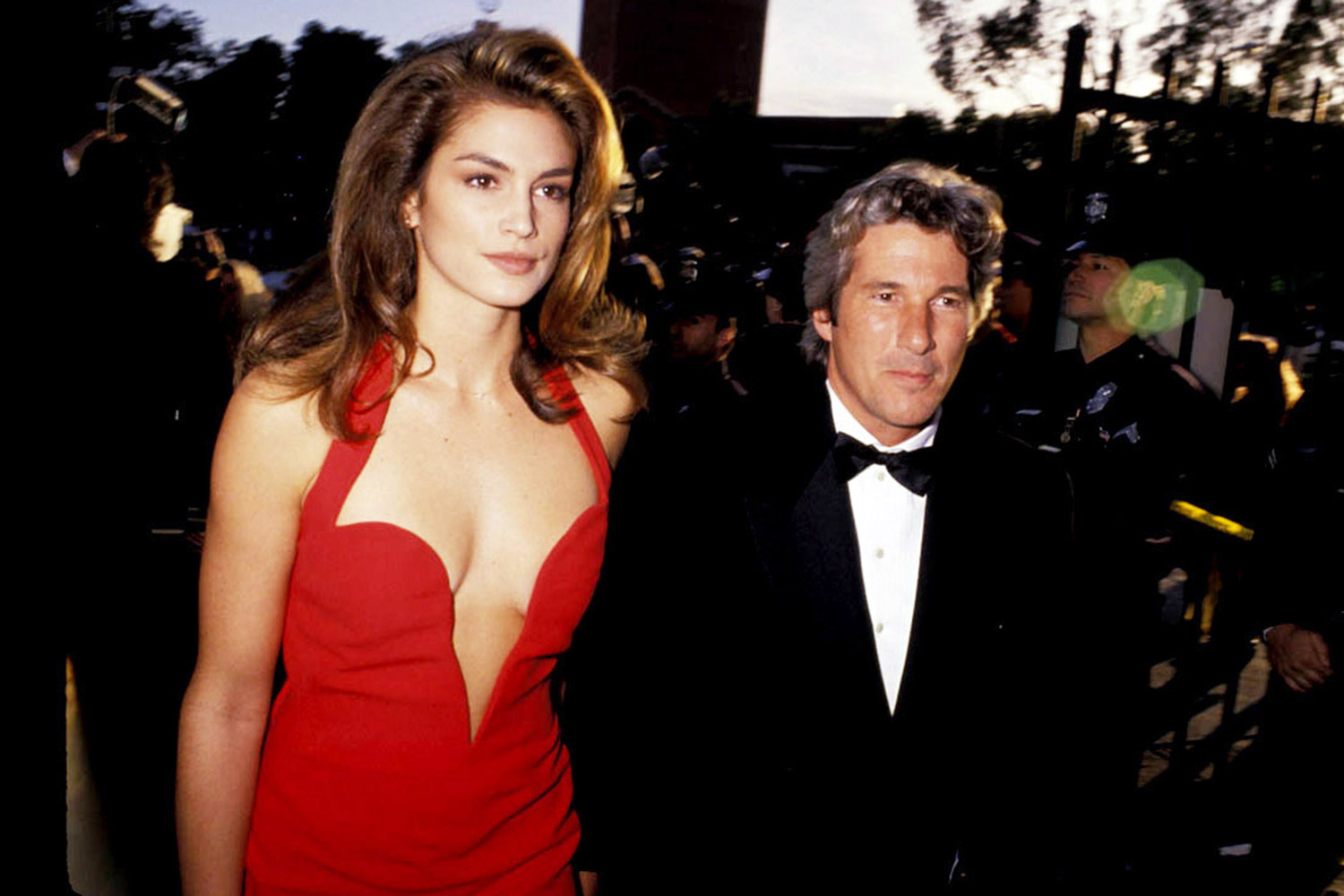 63rd Annual Academy Awards, Cindy Crawford, Richard Gere