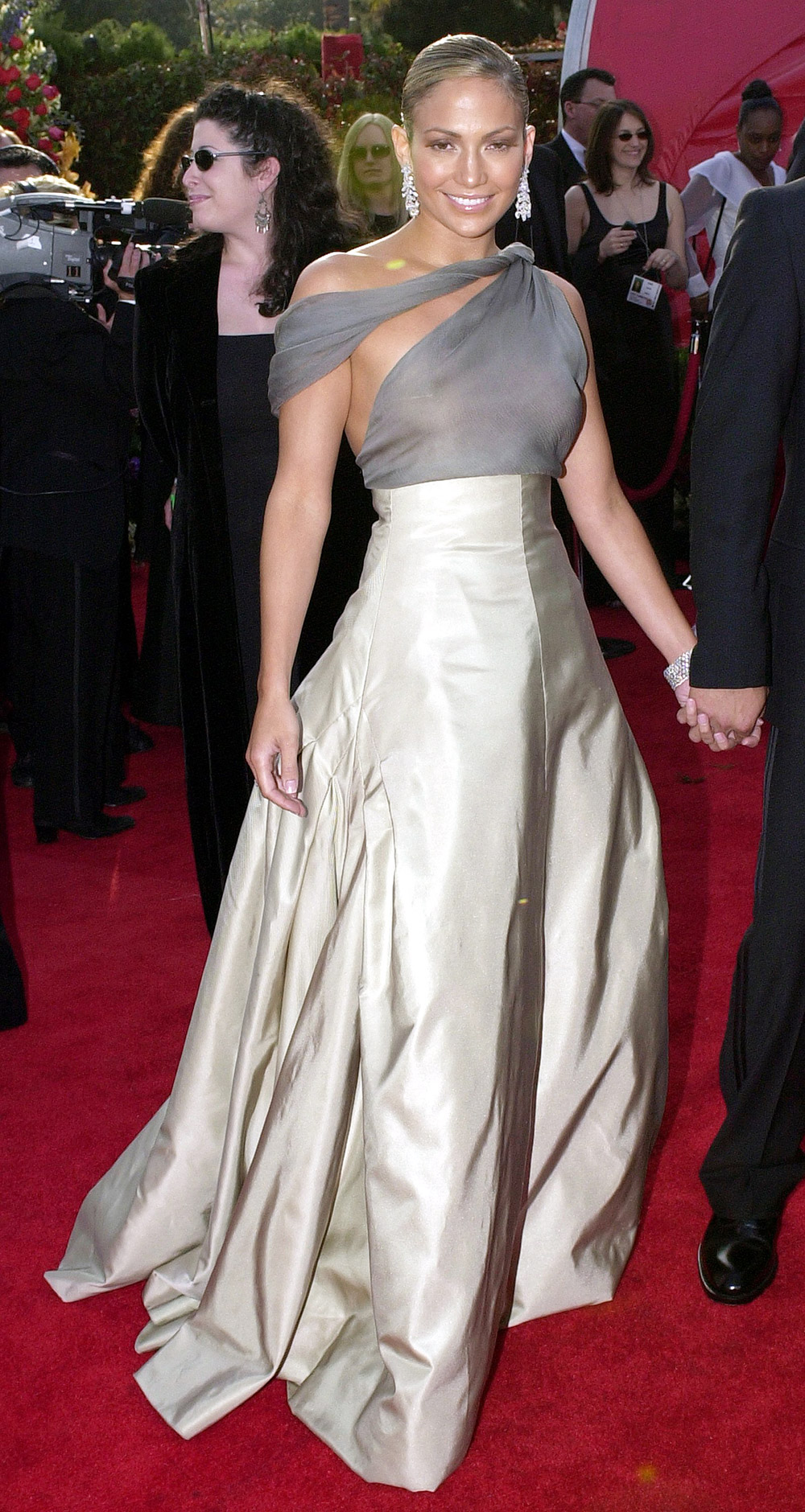 Jennifer Lopez at the 73rd Annual Academy Awards