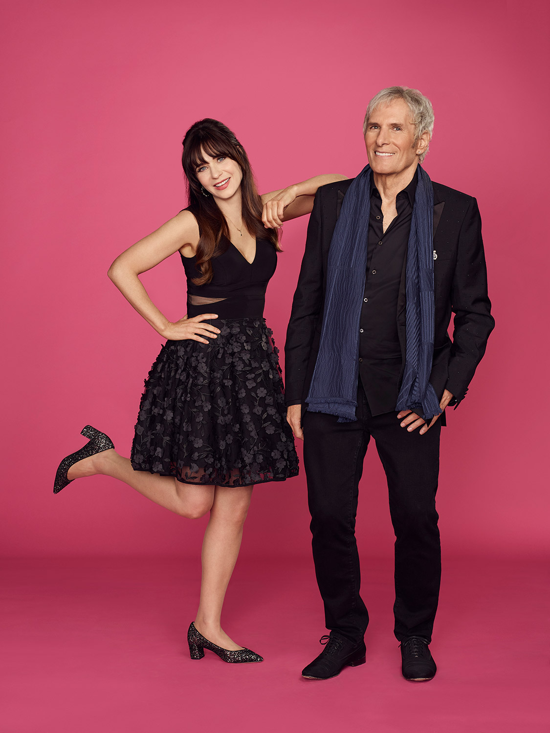 ZOOEY DESCHANEL, MICHAEL BOLTON