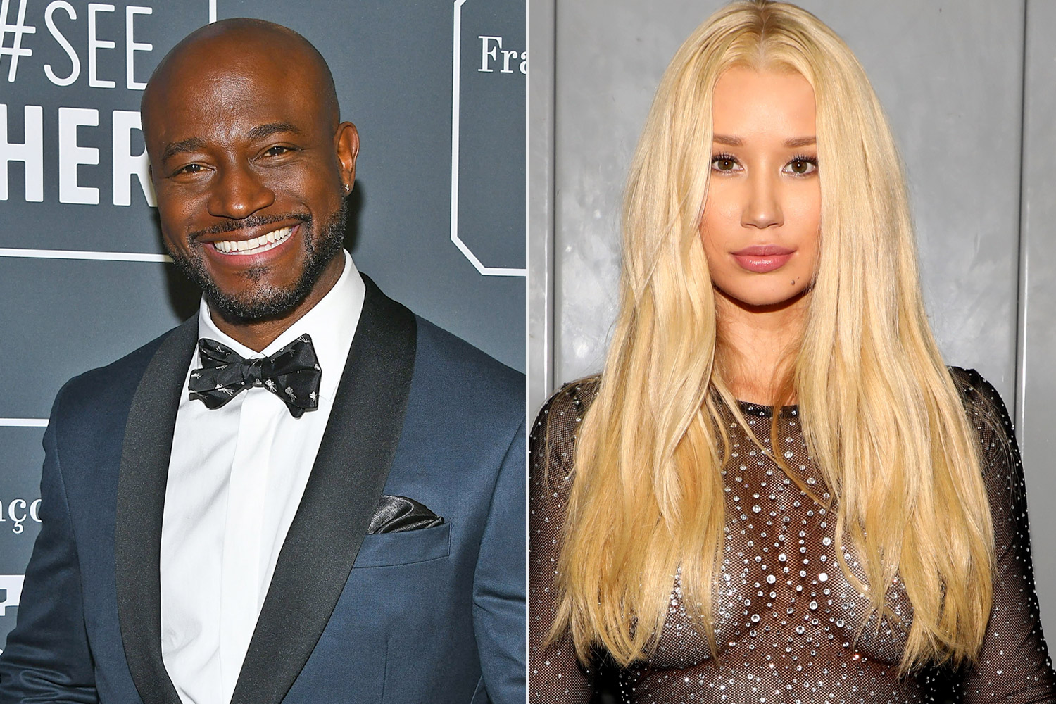 Iggy Azalea and Taye Diggs